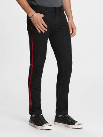 Velvet Tape Wight Jean