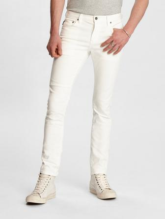 Wight Fit Jean With Knee Patch