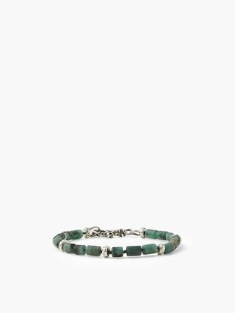 Emerald Beads Bracelet