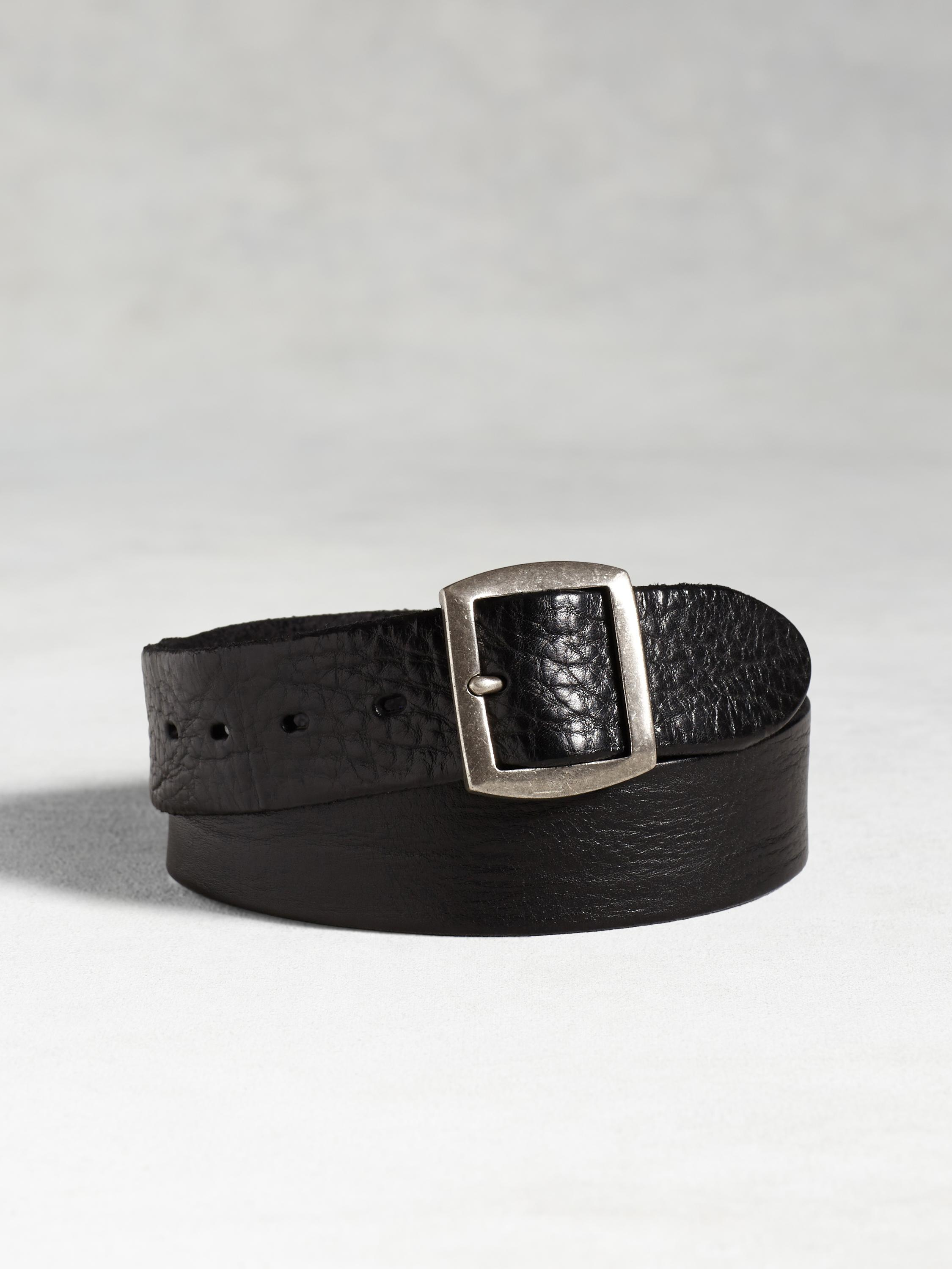 Leather Riveted Belt