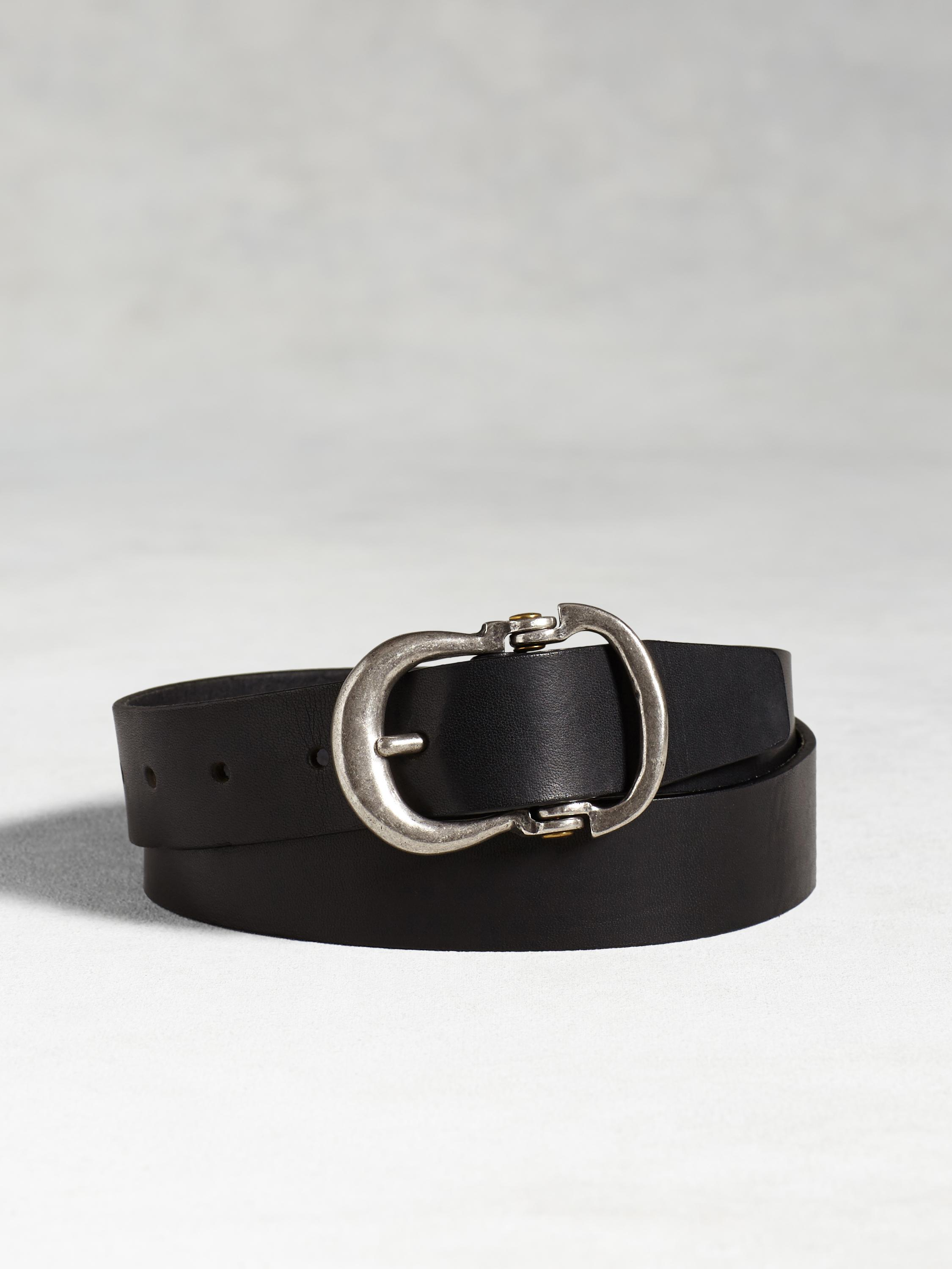 Guitar Hinge Leather Belt