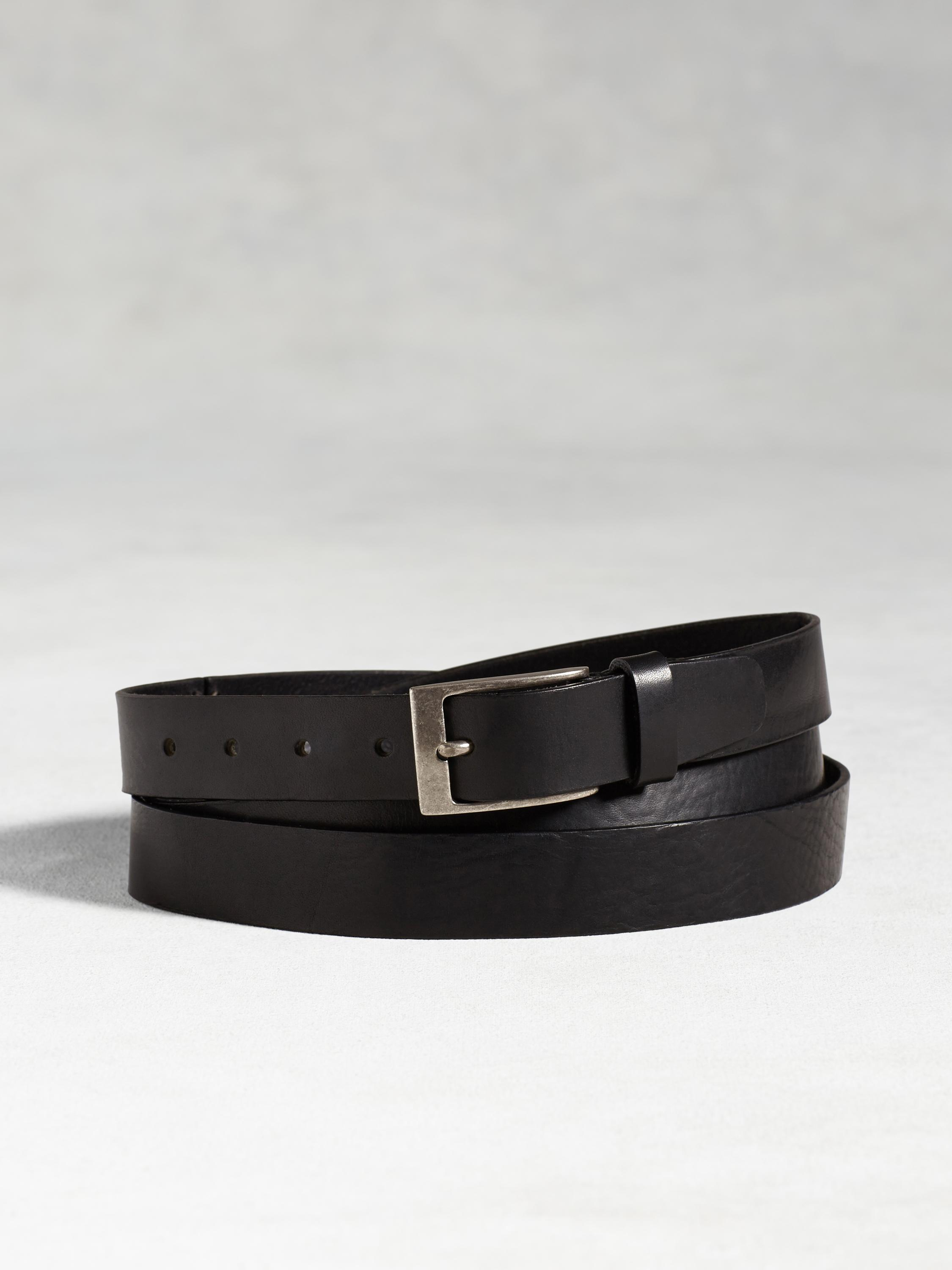 Leather Double Wrap Belt