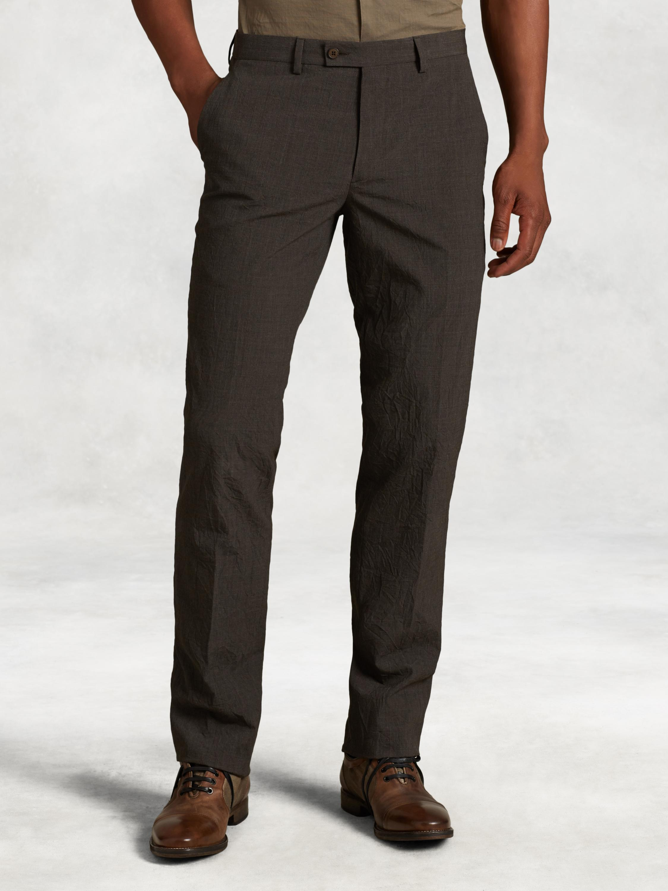 Slim Fit Wool Dress Pant