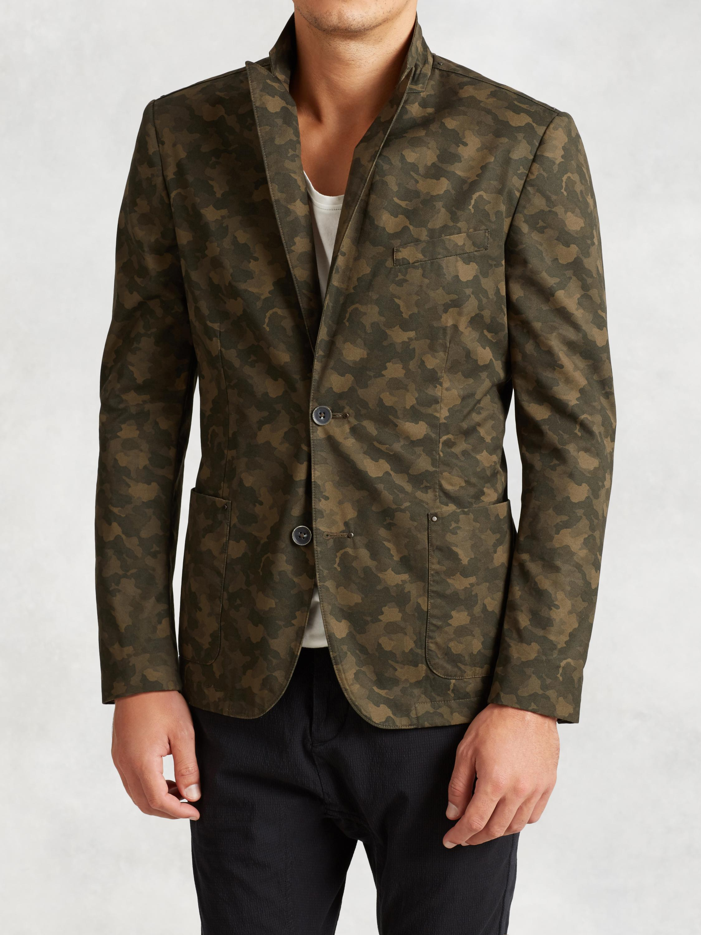 Cotton Camo Jacket