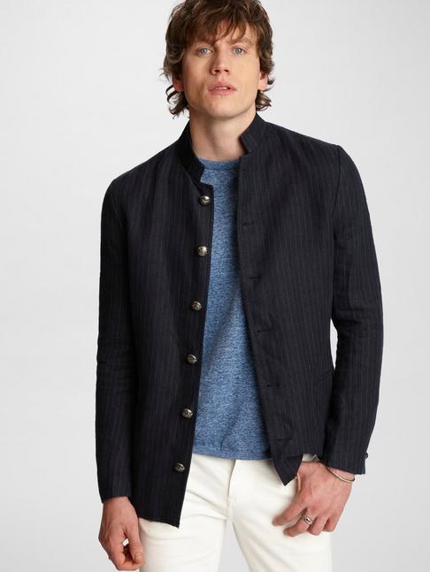 Willy Indigo Pinstripe Jacket