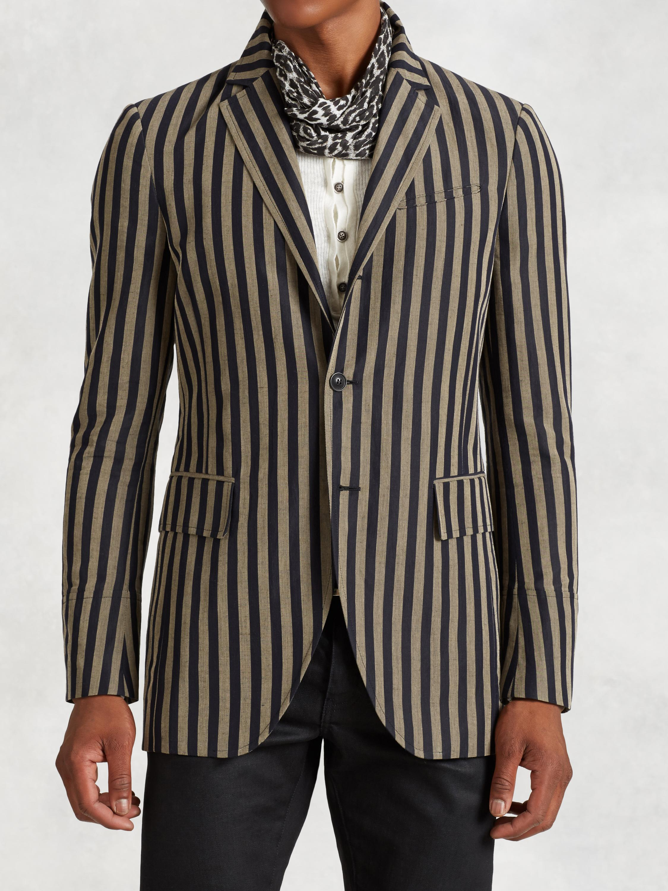 Vintage Cotton Stripe Jacket