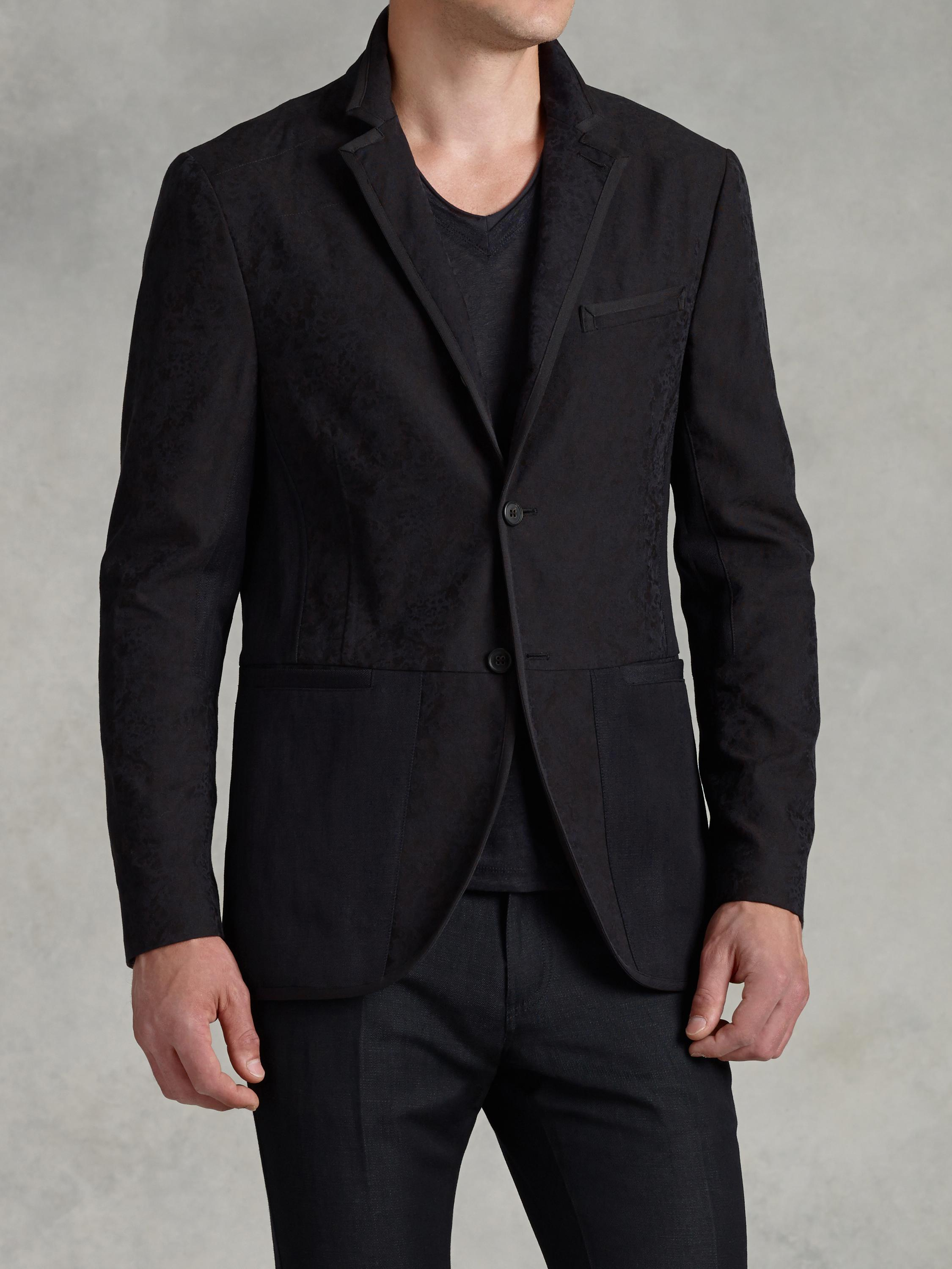 Cotton Jacquard Jacket