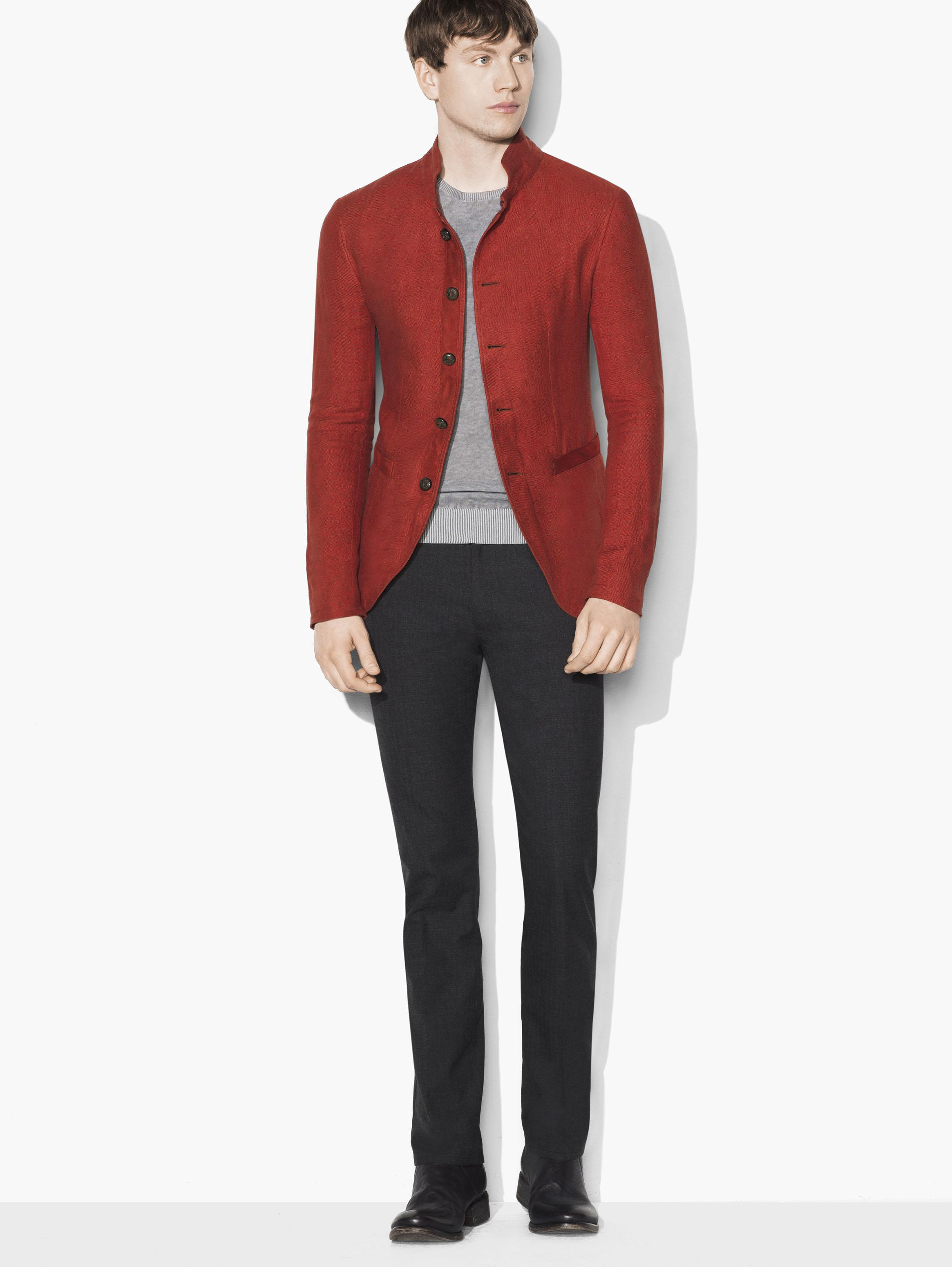 Scarlet Soft Jacket