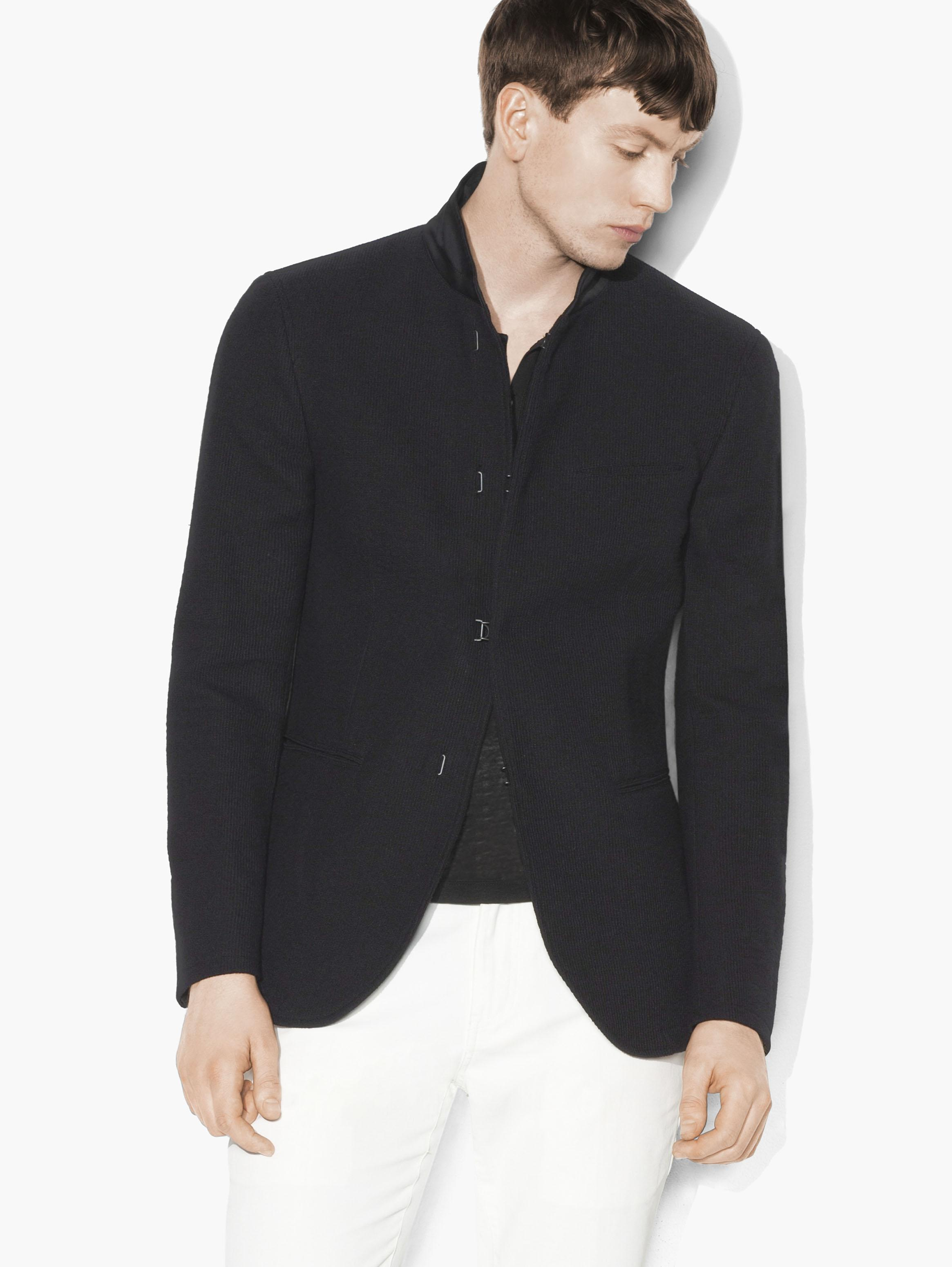 Knit Shawl Collar Jacket