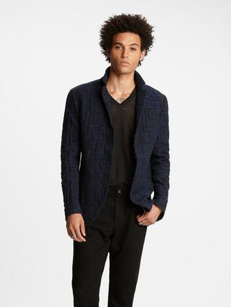 Hook & Eye Jacquard Jacket