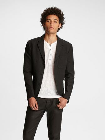 Notch Lapel Jacket