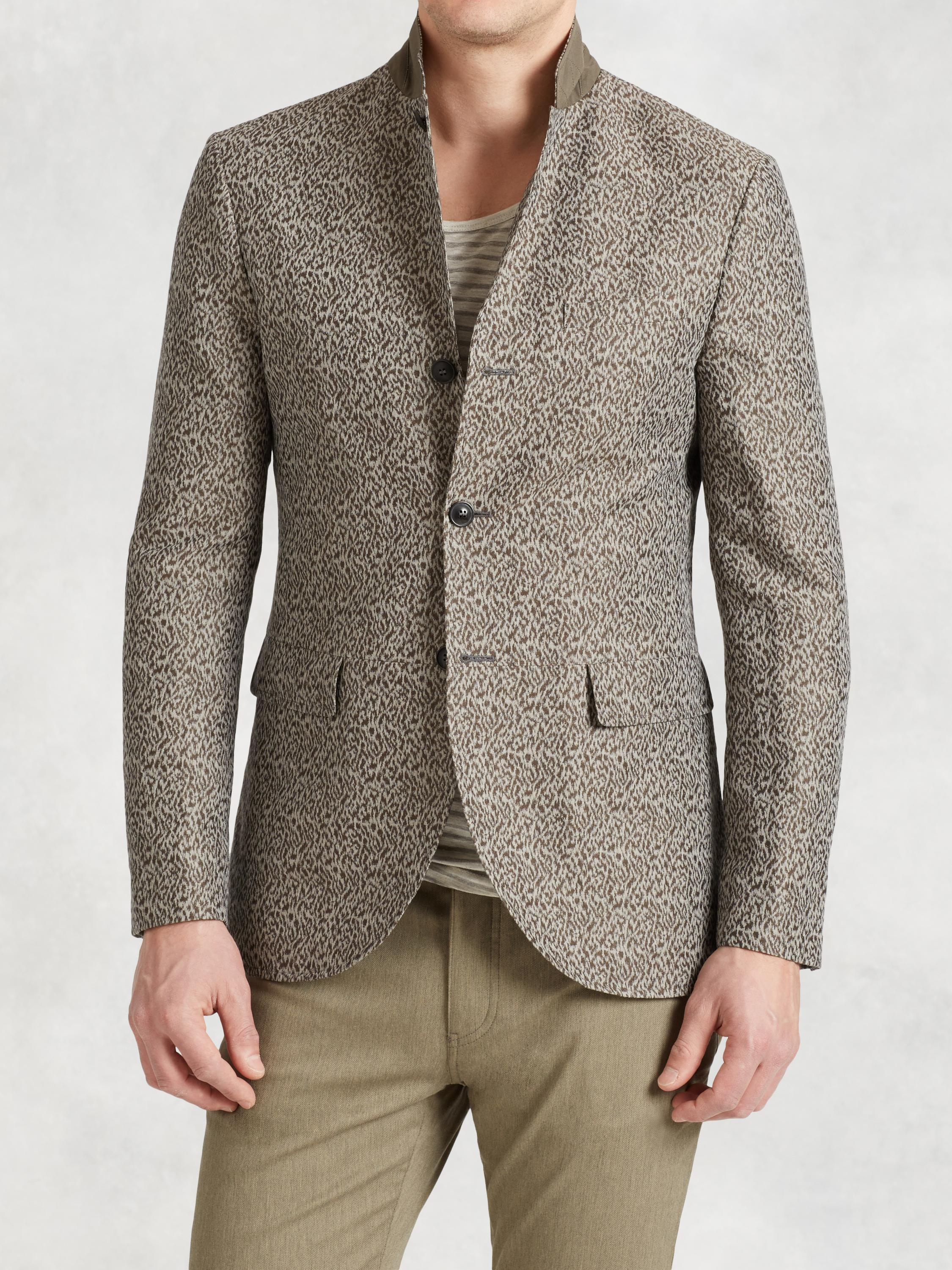 Linen Cotton Cutaway Jacket