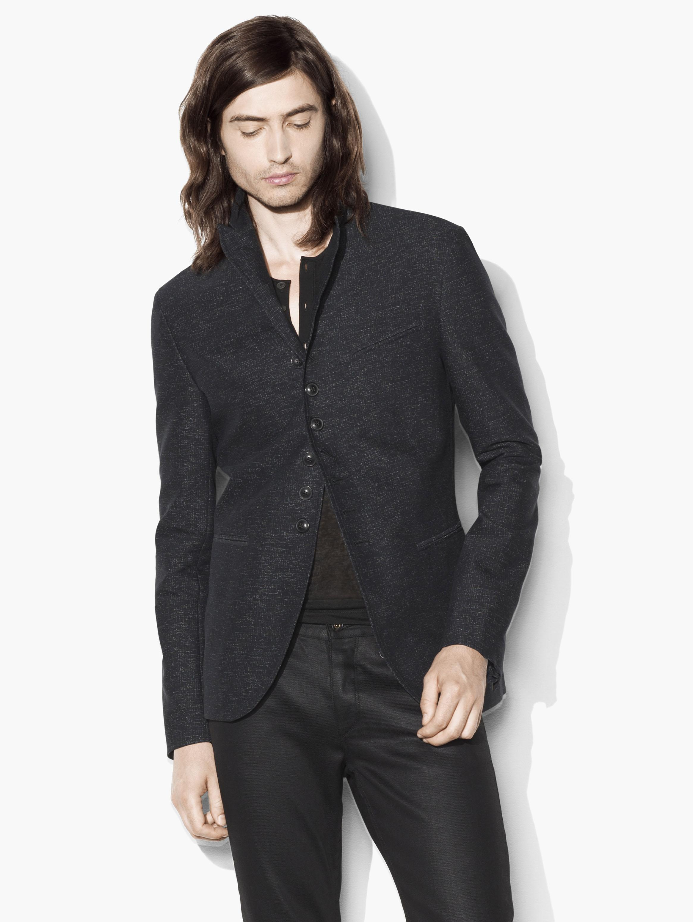 Textured Multi-Button Jacket