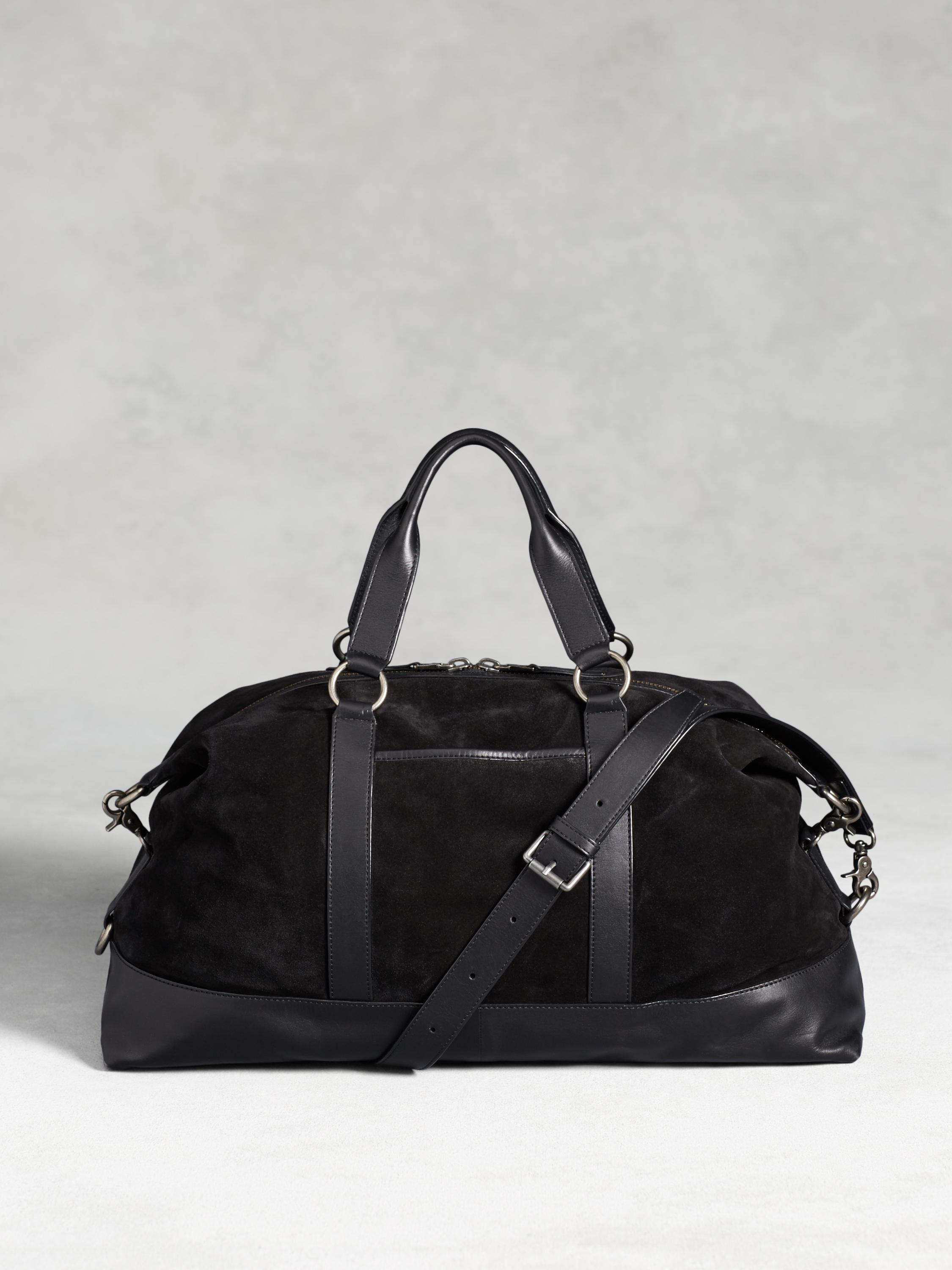 Suede Duffle