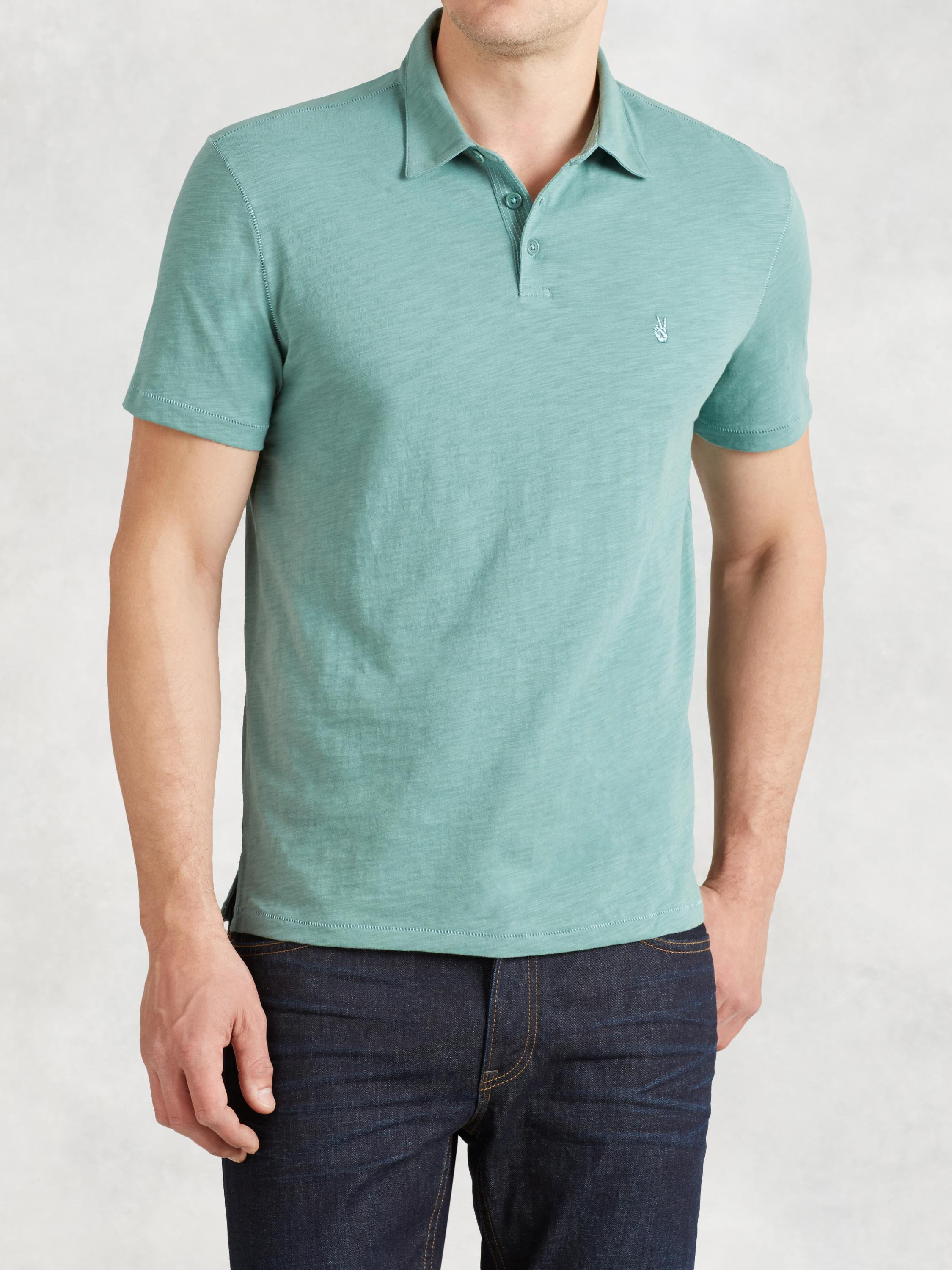 Soft Collar Peace Polo