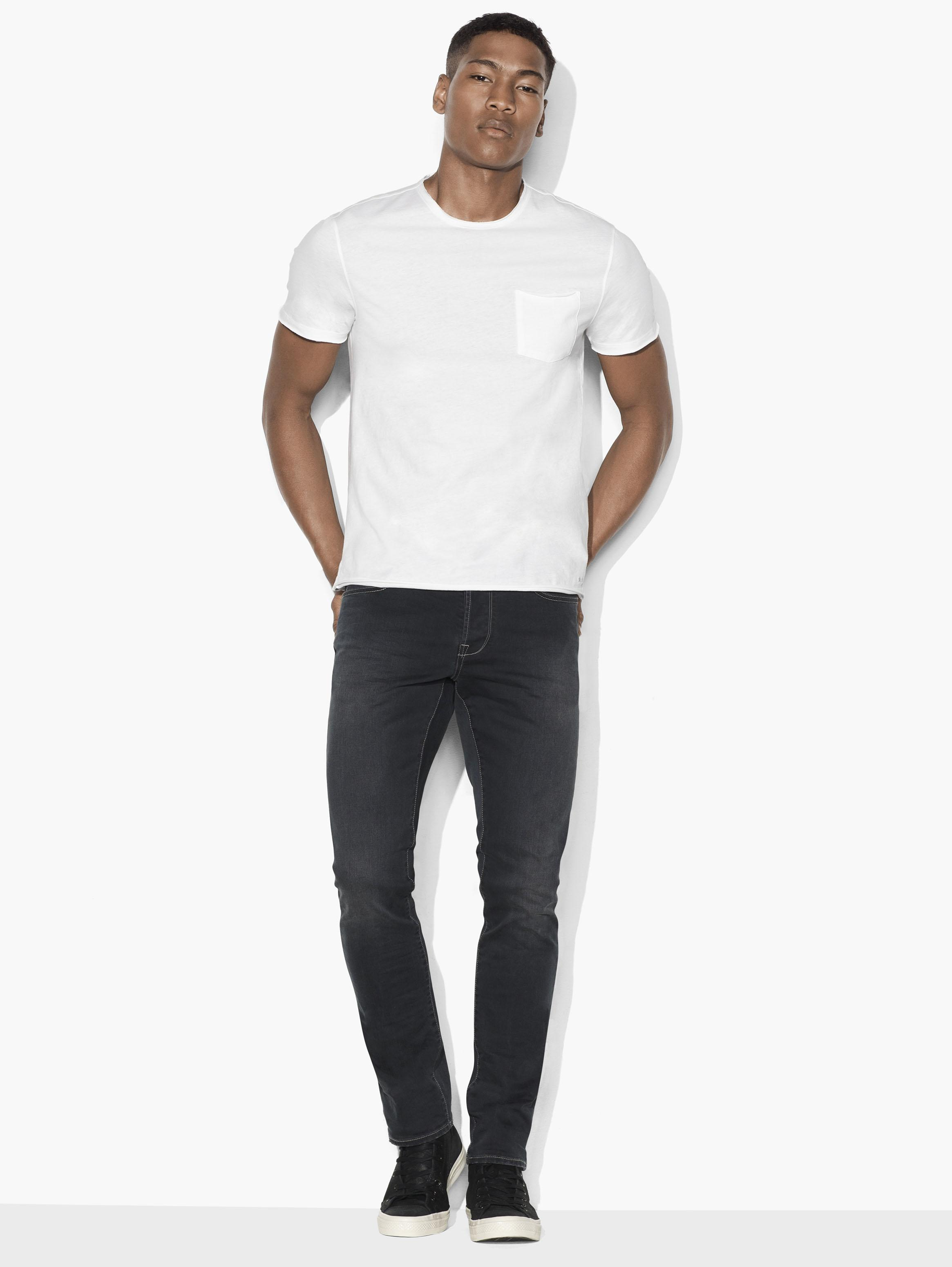 Raw Edge Pocket Tee