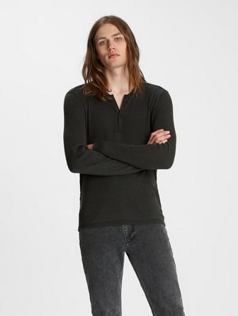 SLIM FIT HENLEY