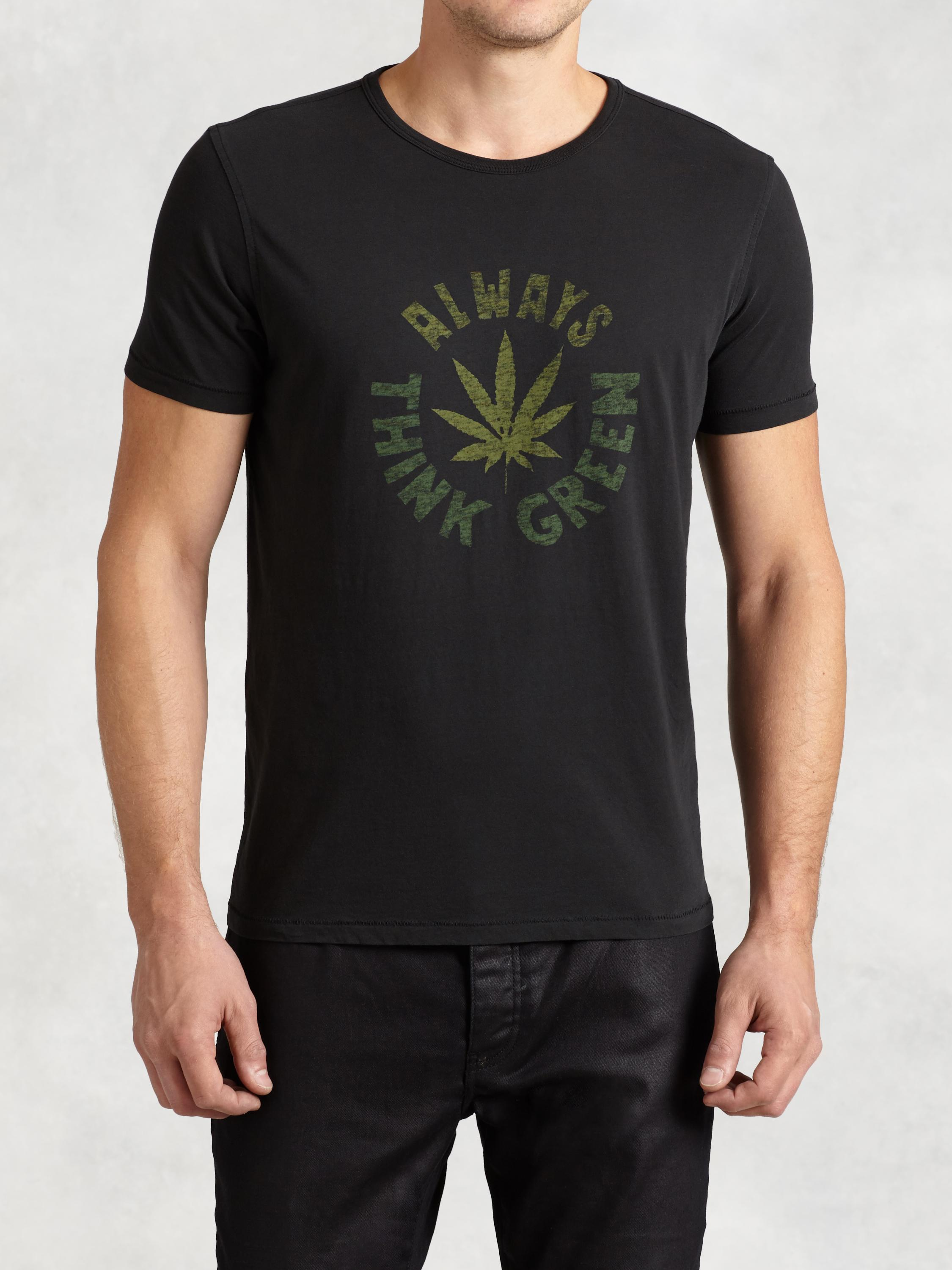 Always Think Green Graphic Tee