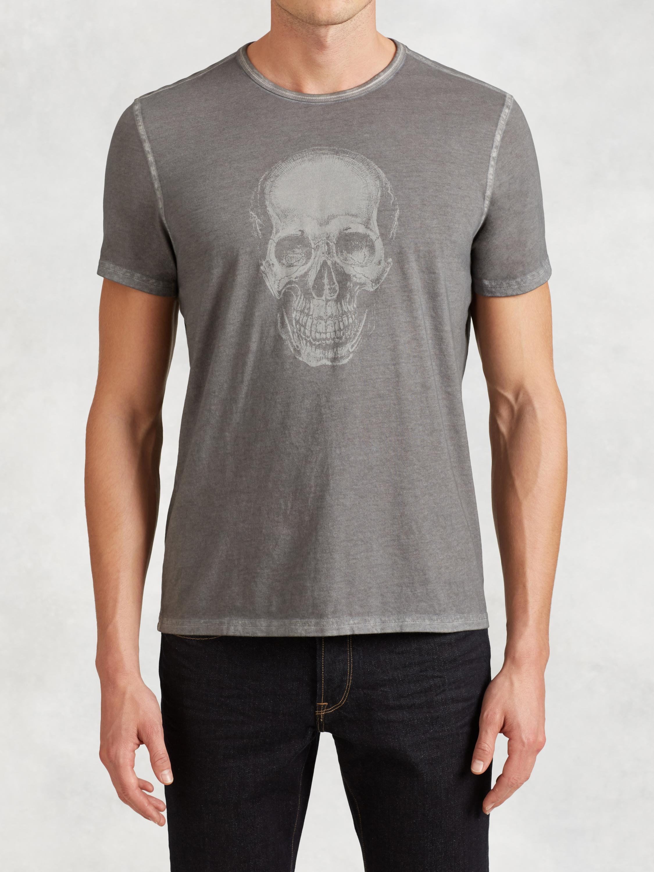 Ghost Skull Graphic Tee