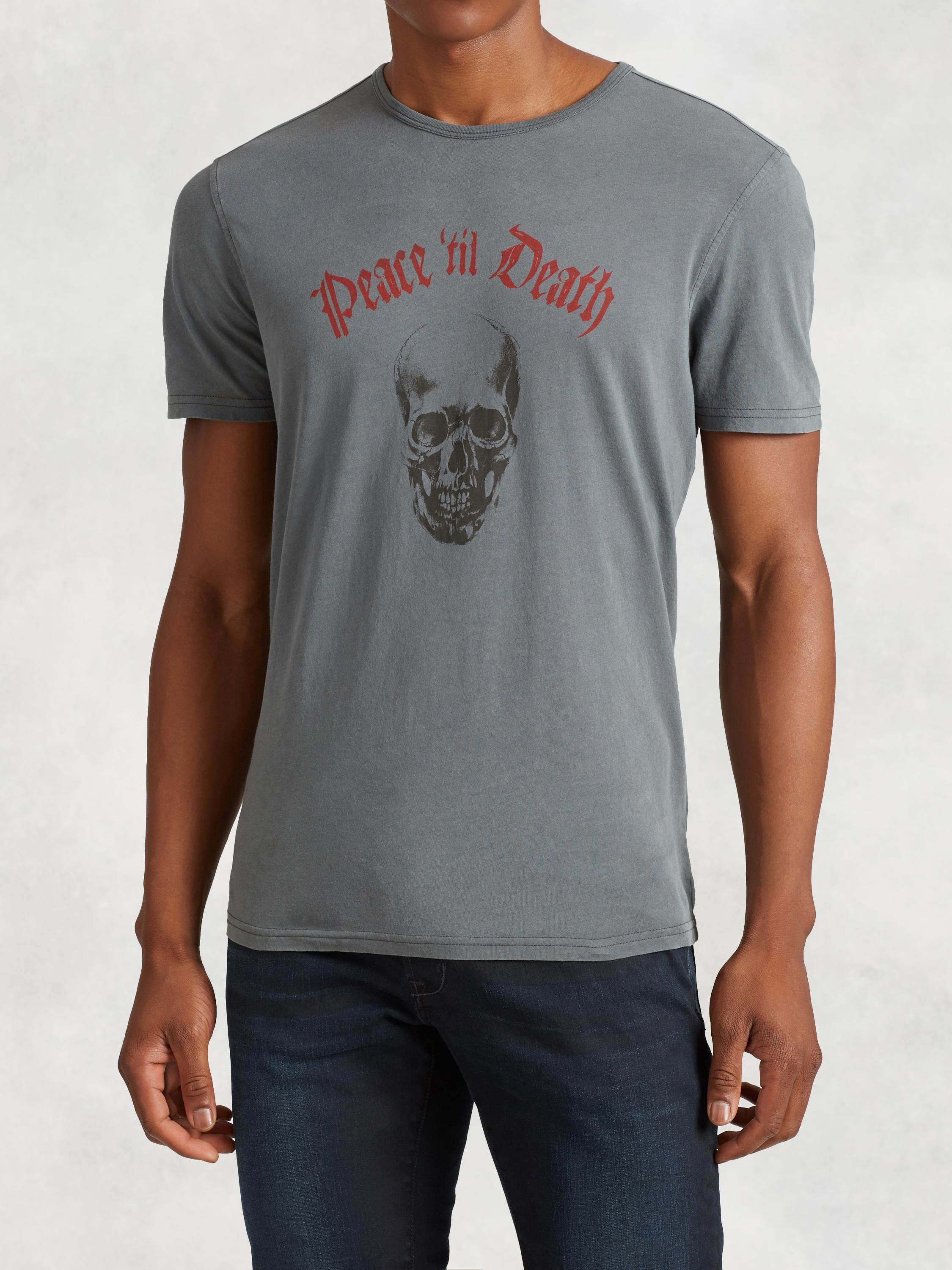 Peace 'Til Death Graphic Tee