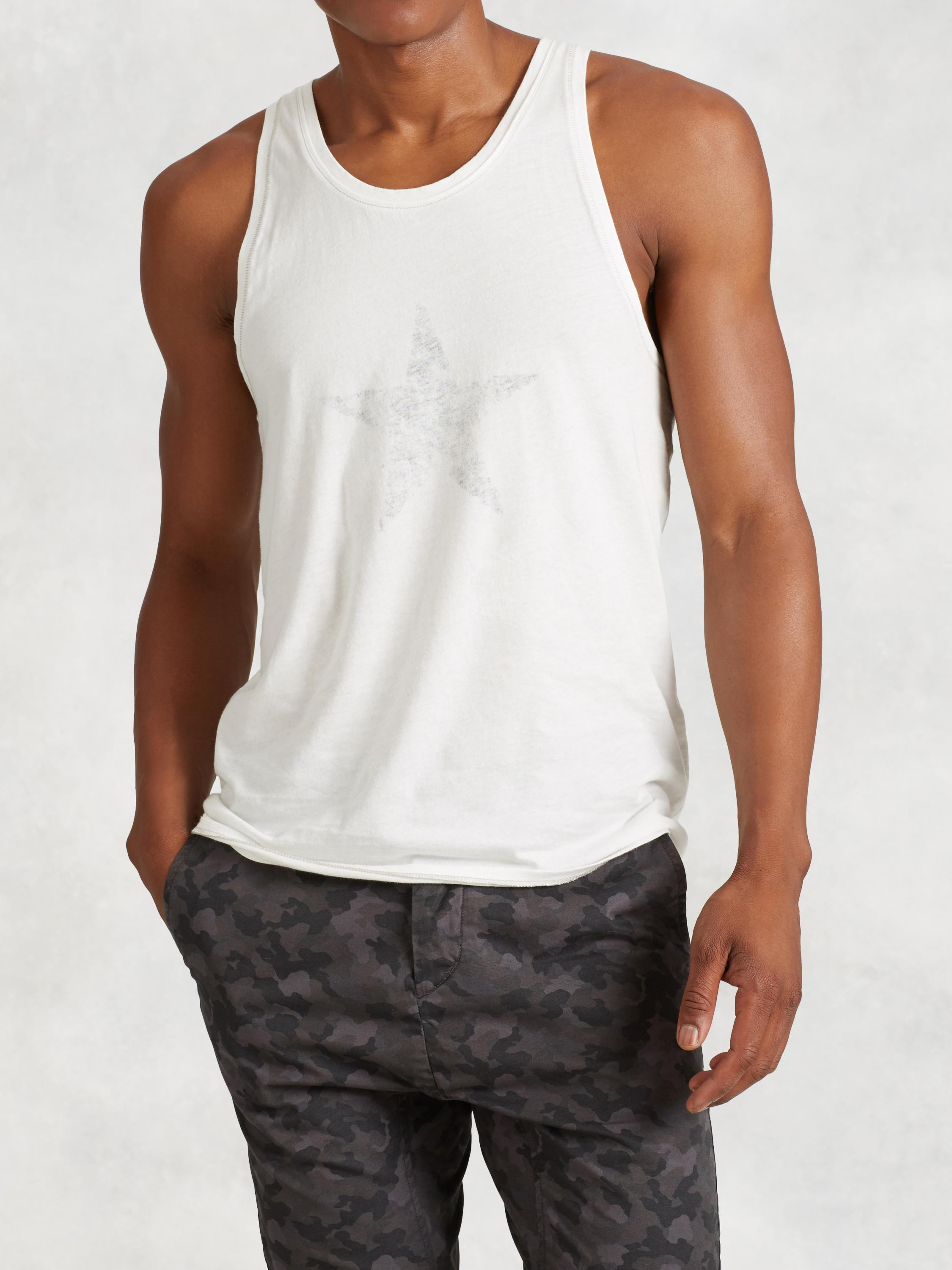 Faded Star Graphic Tank