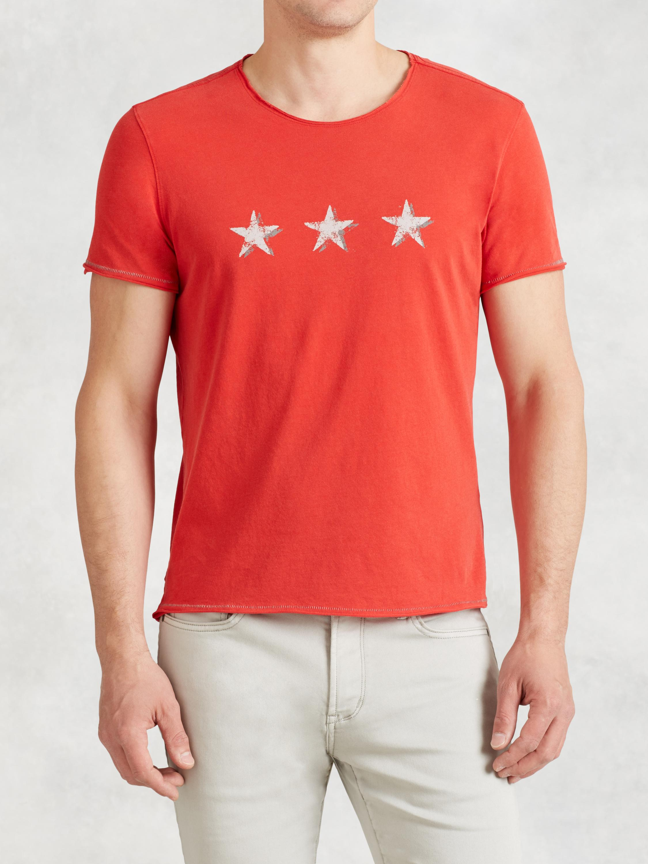 Tri Star Graphic Tee