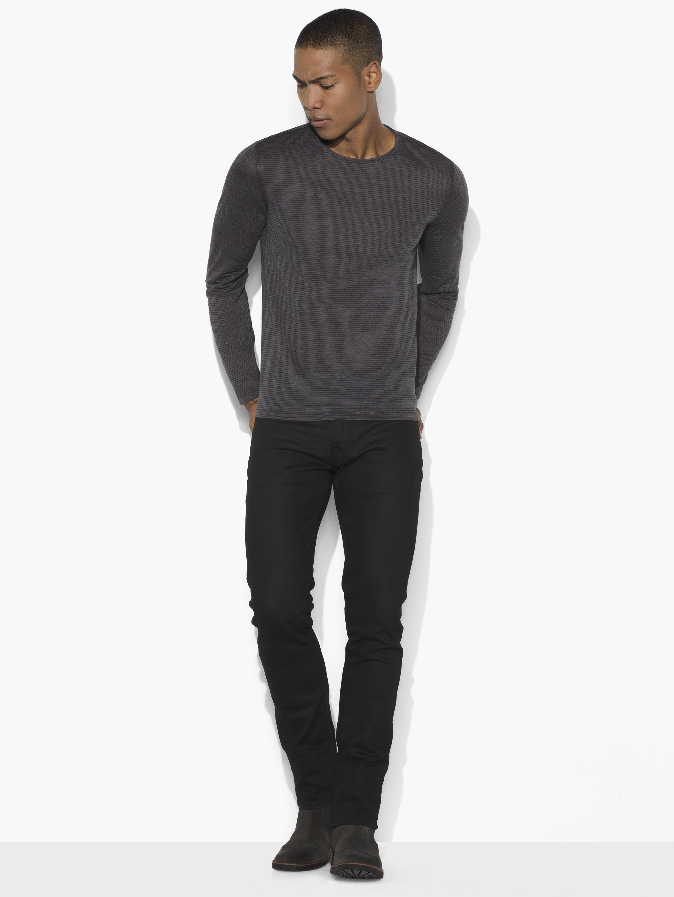 Long Sleeve Knit Crewneck
