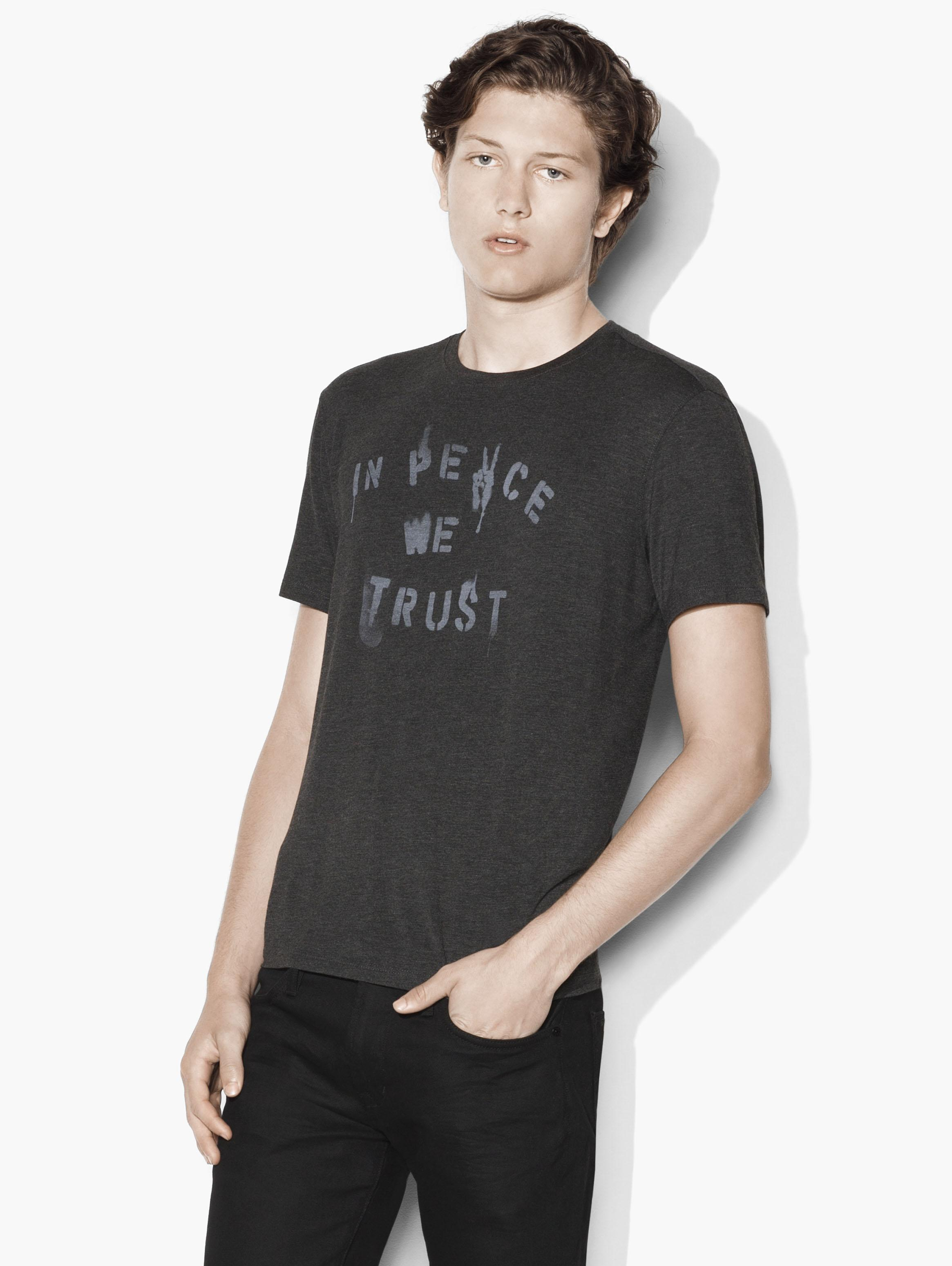 In Peace We Trust Graphic Tee
