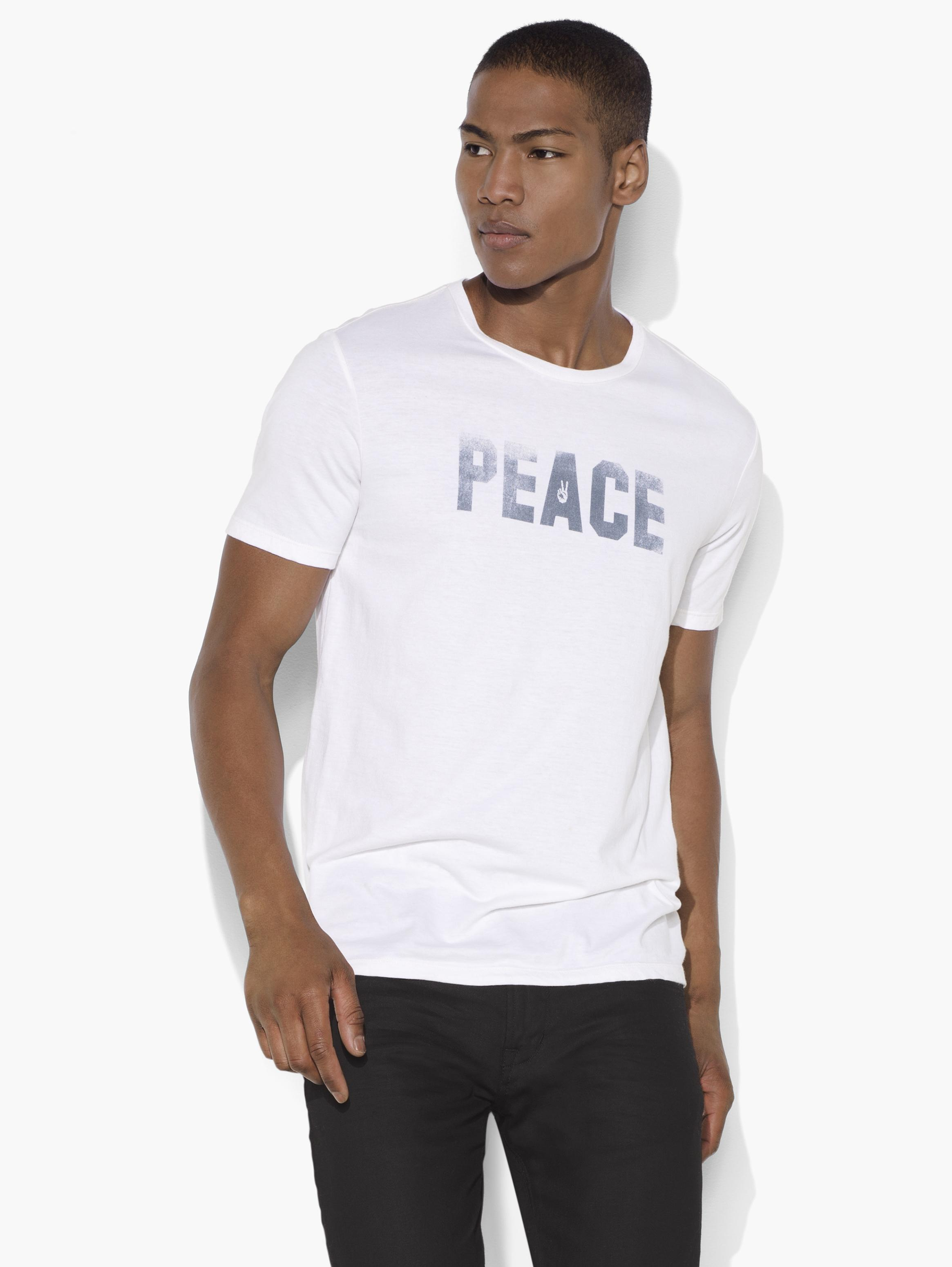 Peace & Freedom Graphic Tee