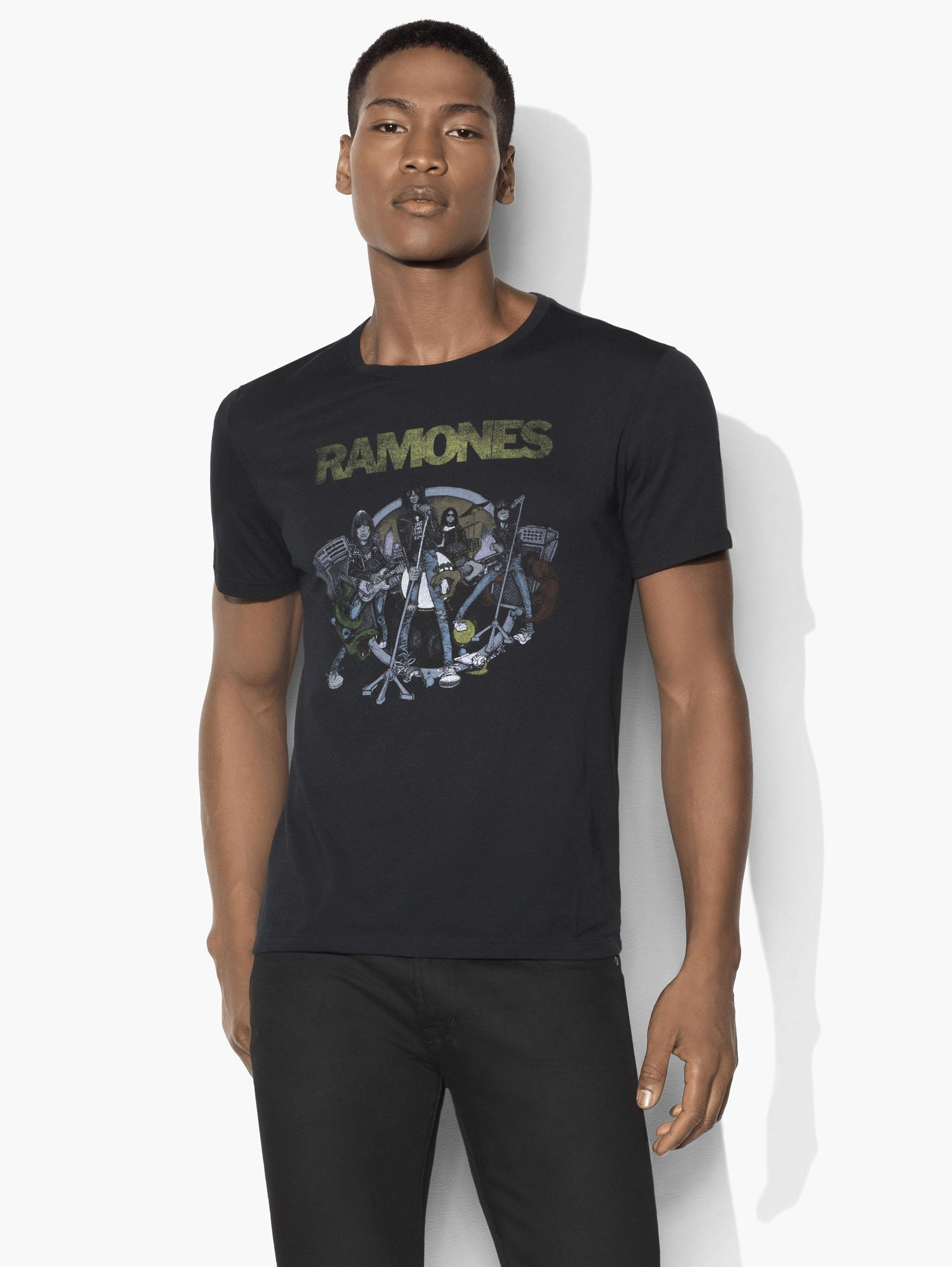 Illustrated Ramones Tee