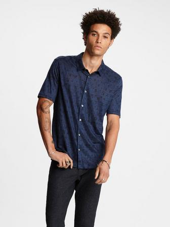 Easy Fit Knit Shirt