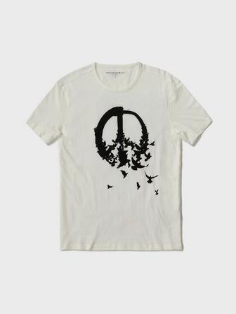 PEACE BIRDS TEE