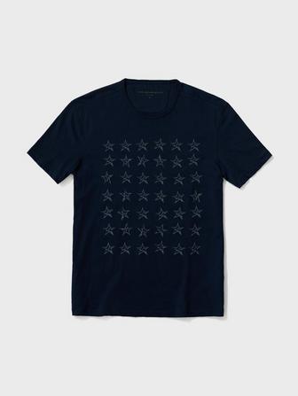 STAR ROWS TEE