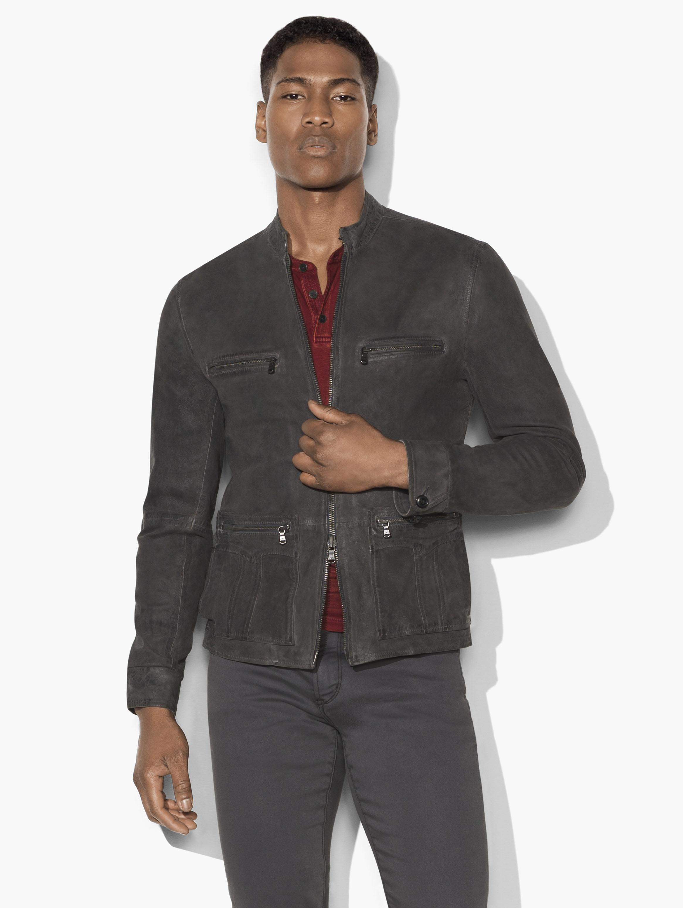 Military Field Racer Jacket by John Varvatos