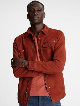 Shilo Suede Shirt Jacket