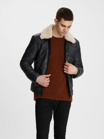 Sheldon Nubuck Leather Jacket