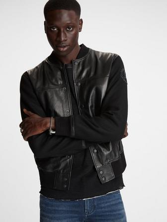 Billy All Black Varsity Jacket