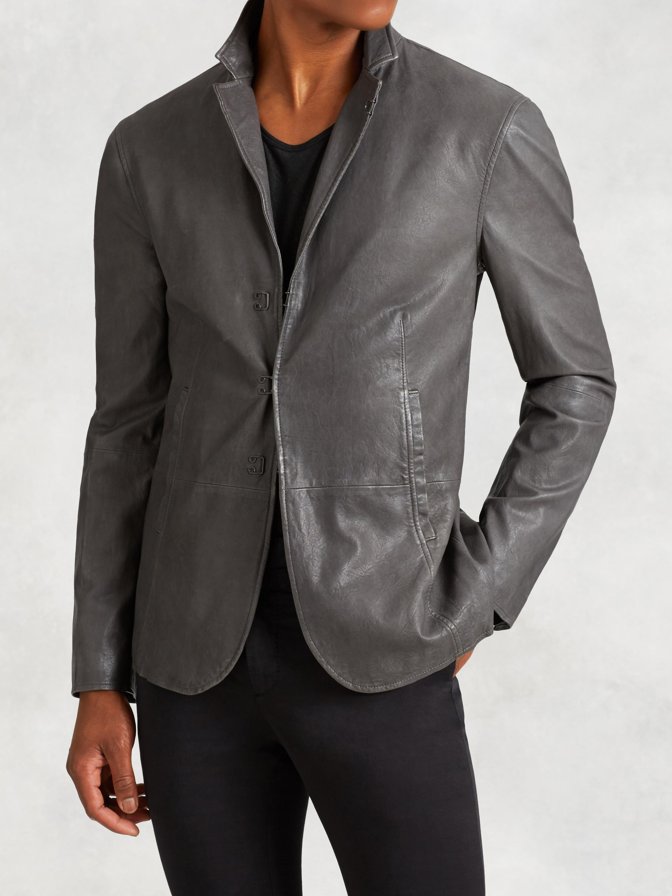 Burnished Lambskin Jacket