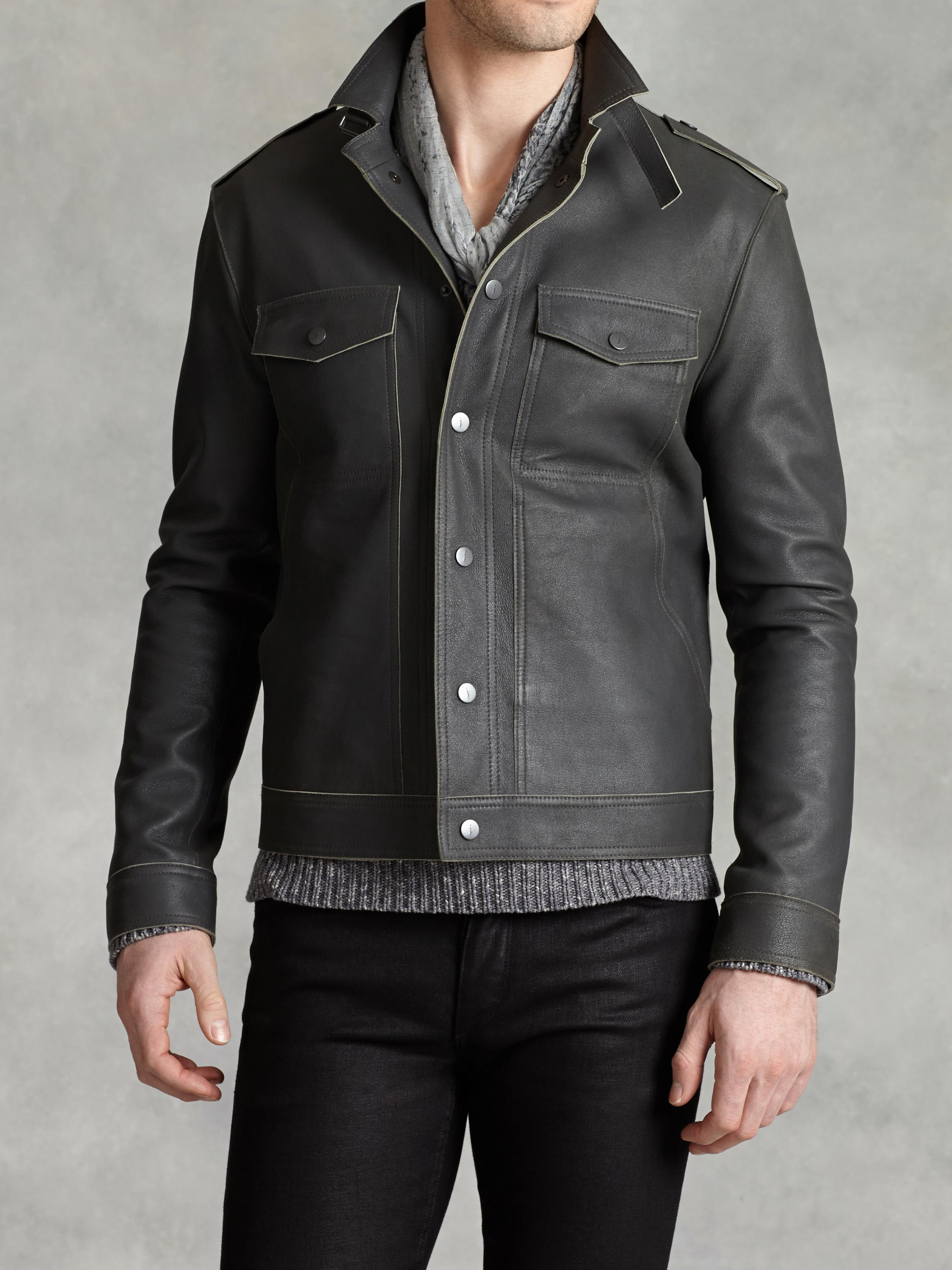 Double Faced Lambskin Jacket