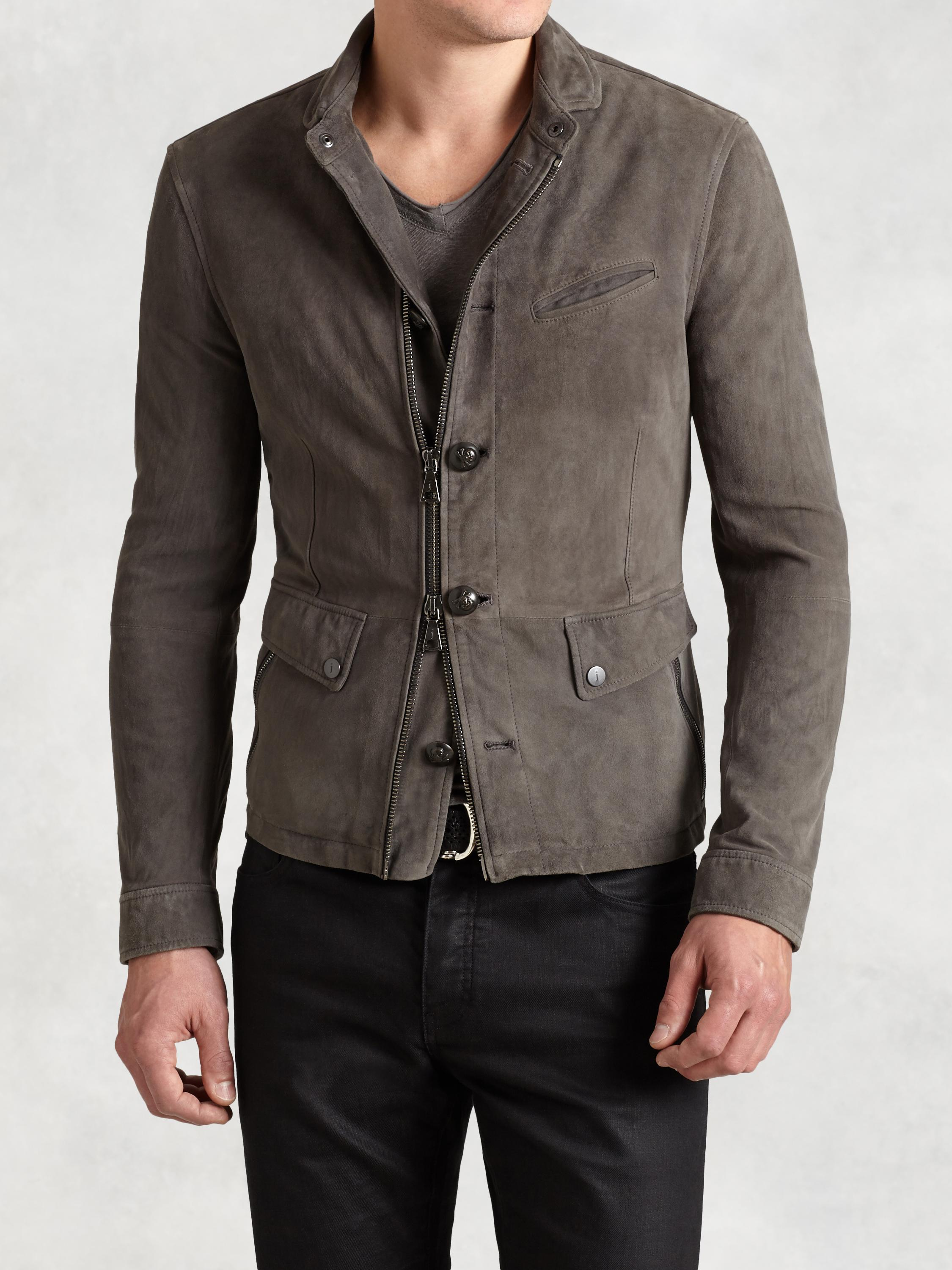 Lambskin Burnished Jacket
