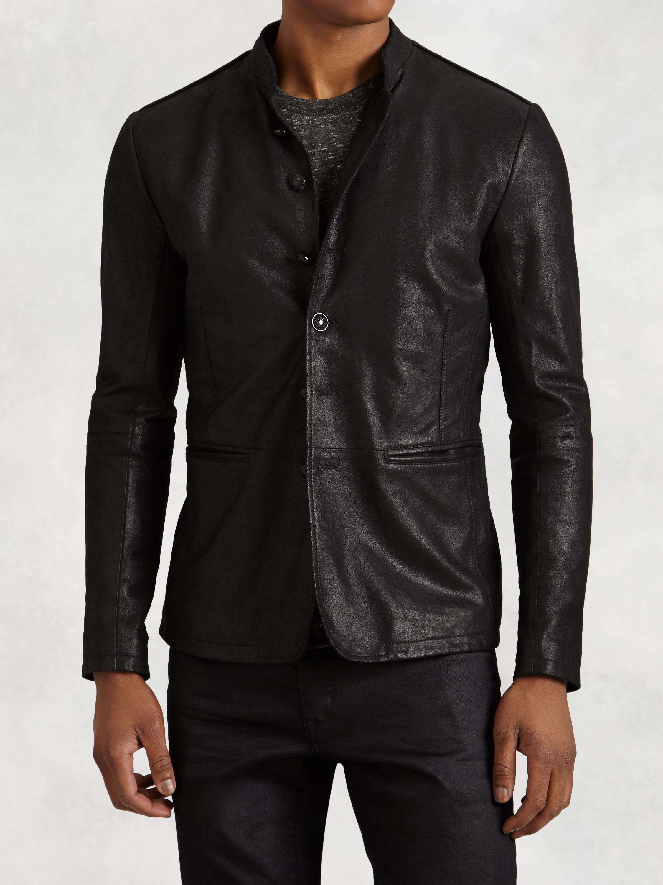 Burnished Goat Sude Jacket