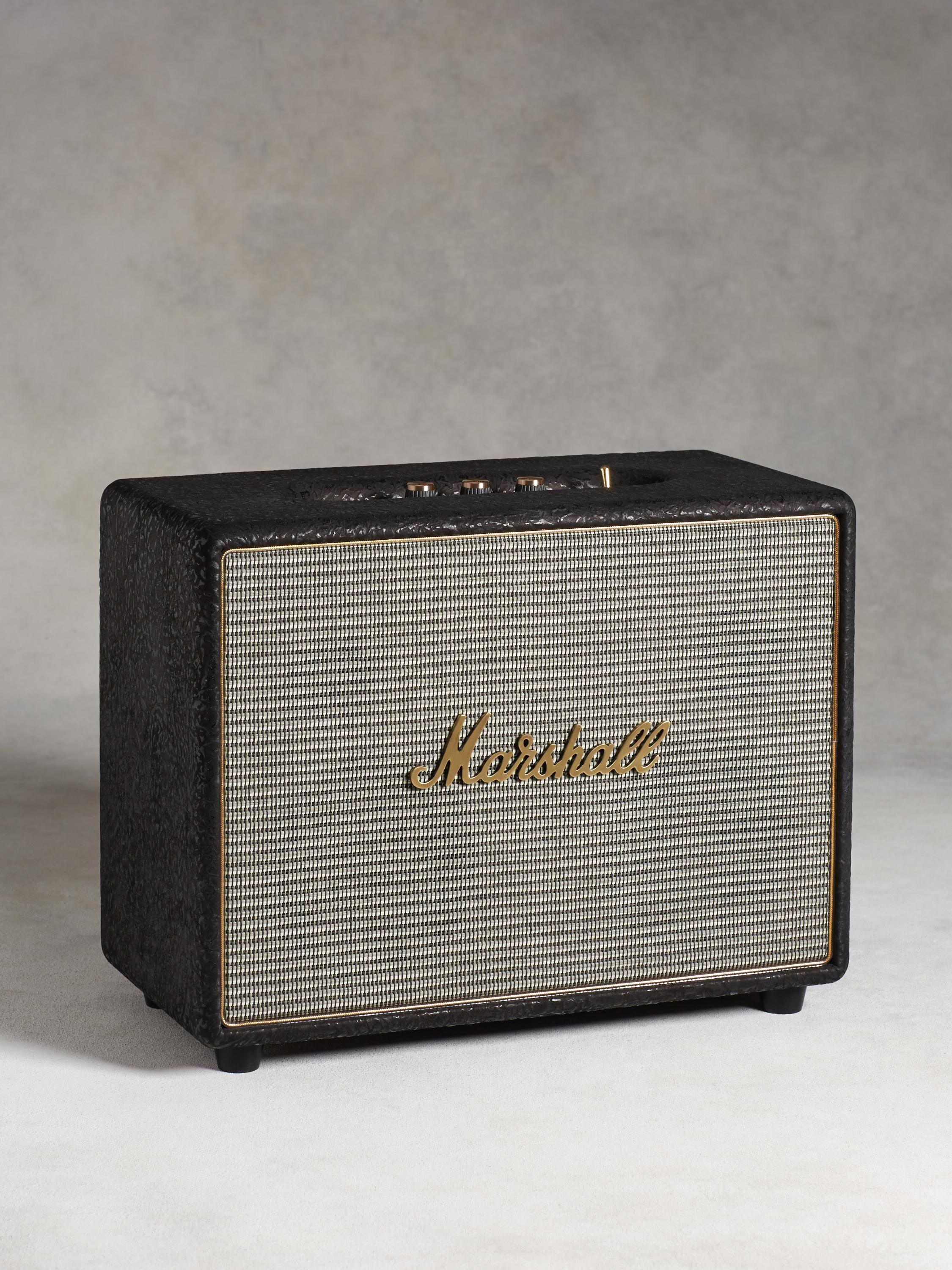Exclusive Marshall Woburn Black Speaker