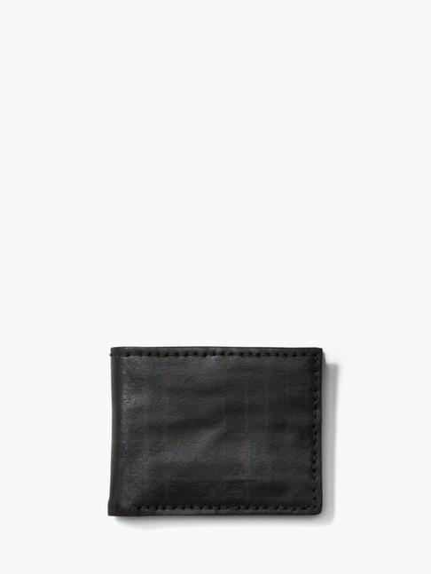 John Varvatos Plaid Slim Fold Wallet