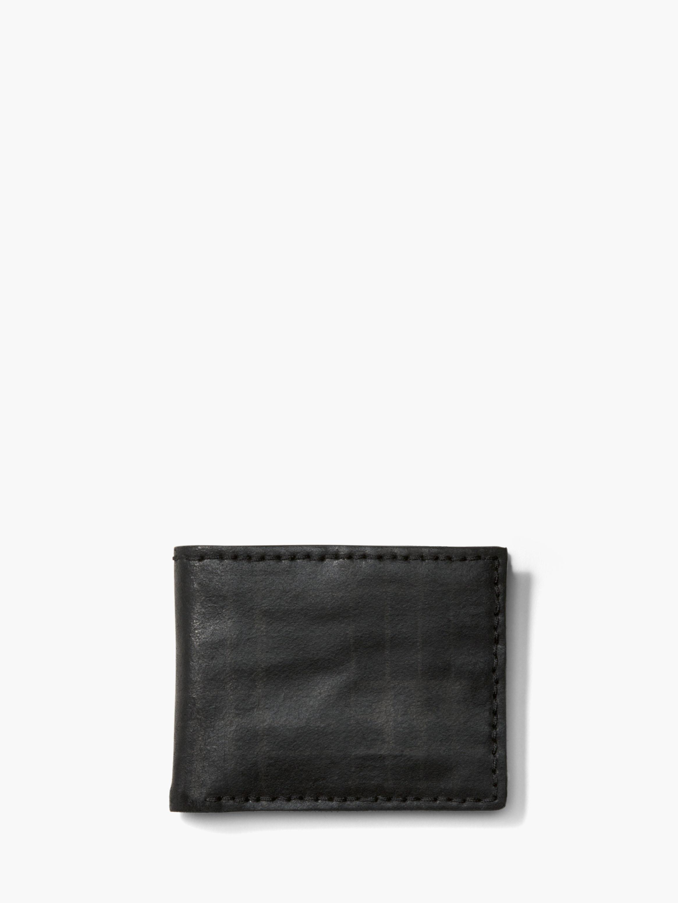 Plaid Slim Fold Wallet