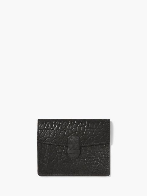 John Varvatos Leather Card & Coin Case