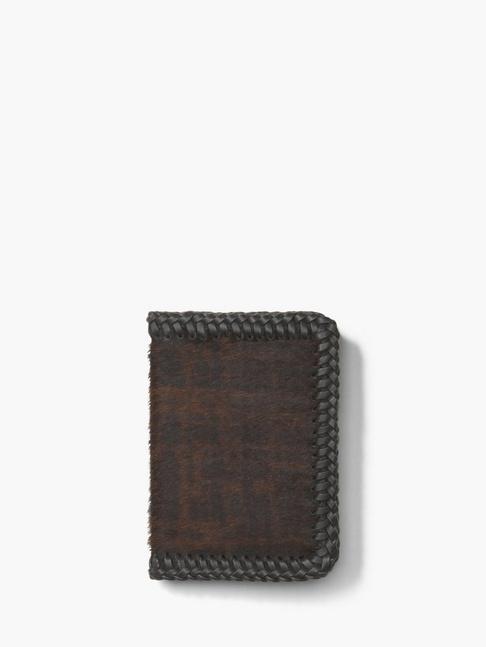 John Varvatos Whip Stitched Card Case