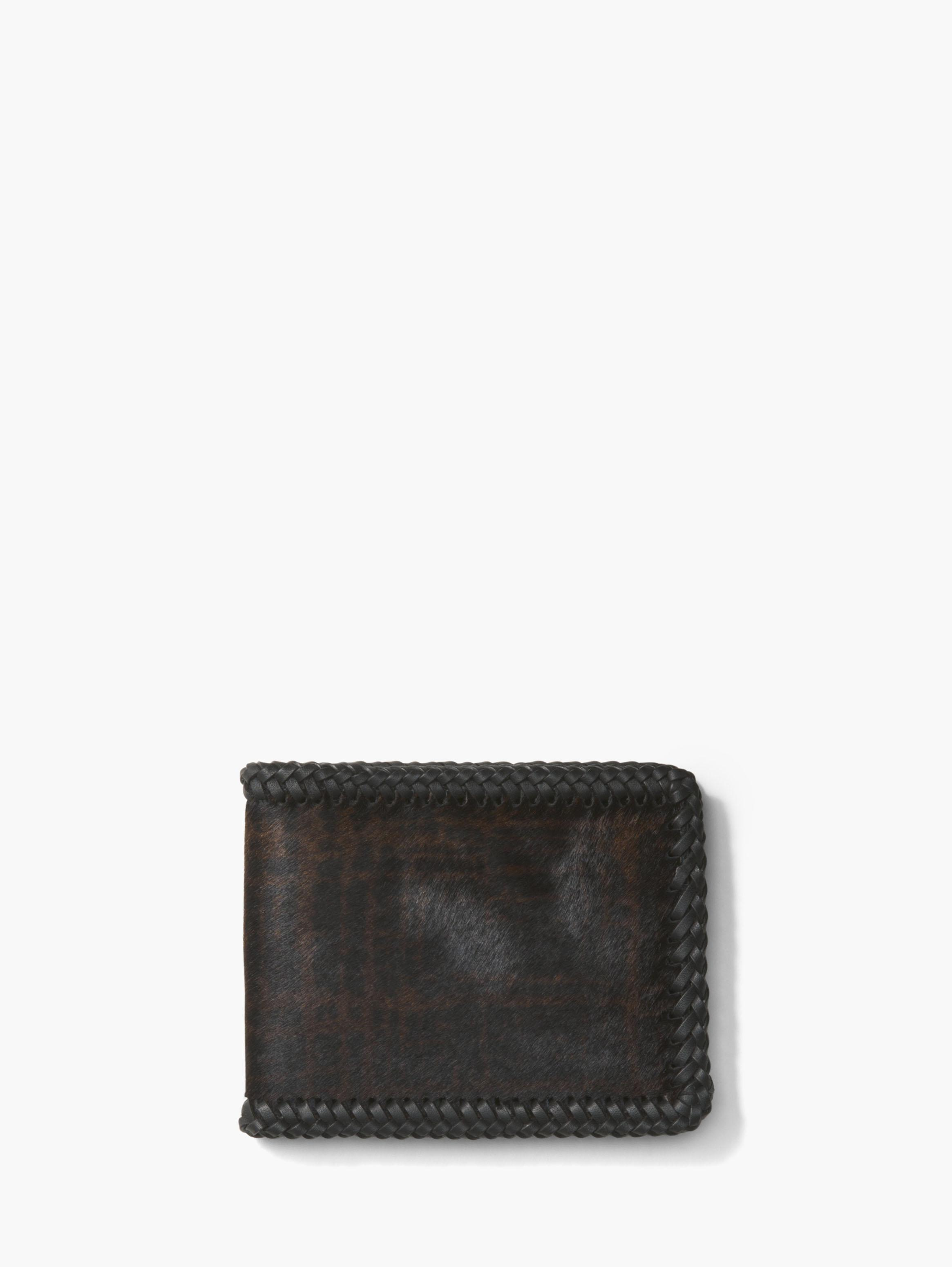 Whip Stitched Bill Fold Wallet