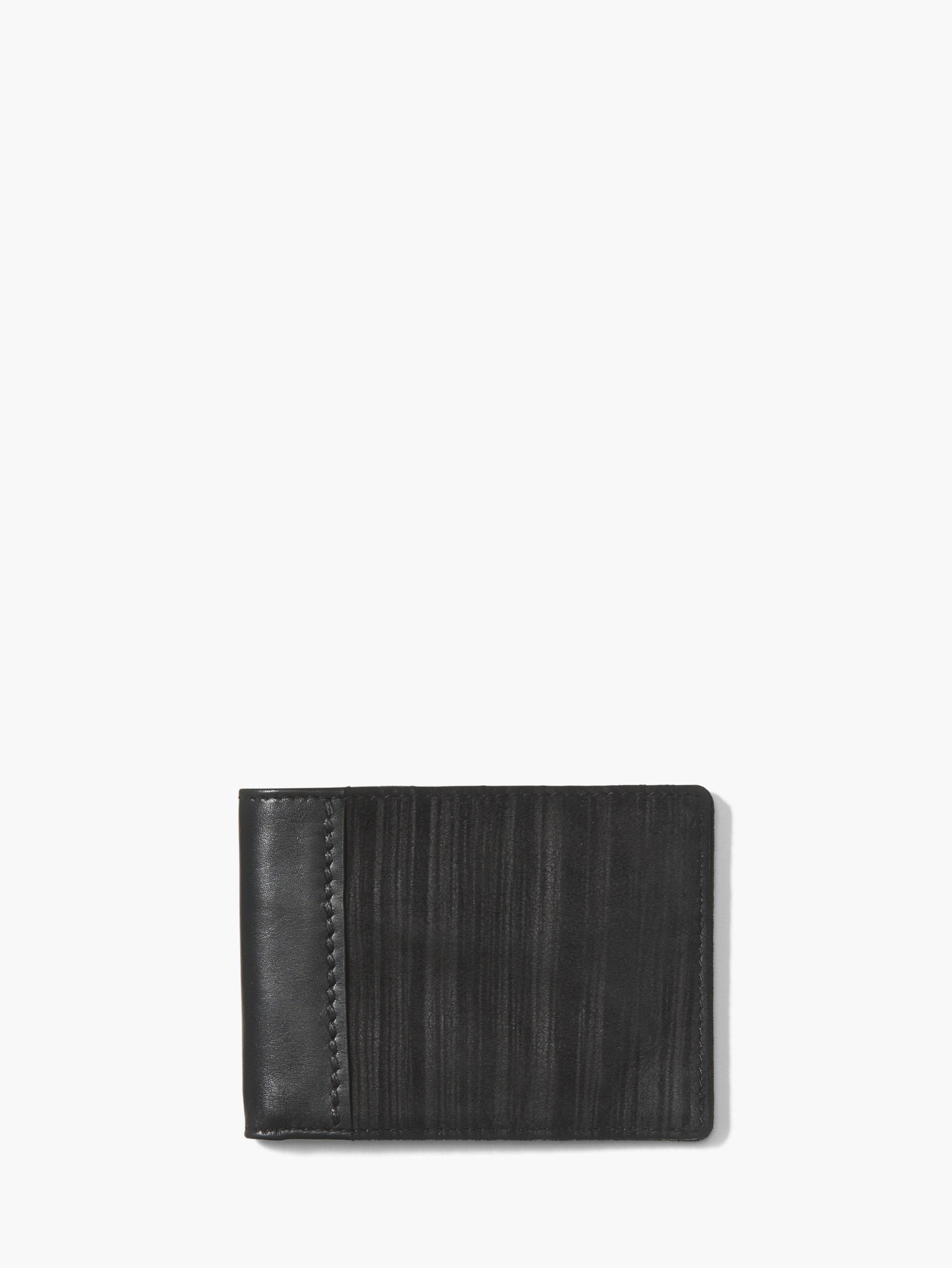 John Varvatos Pinstripe Bifold Wallet