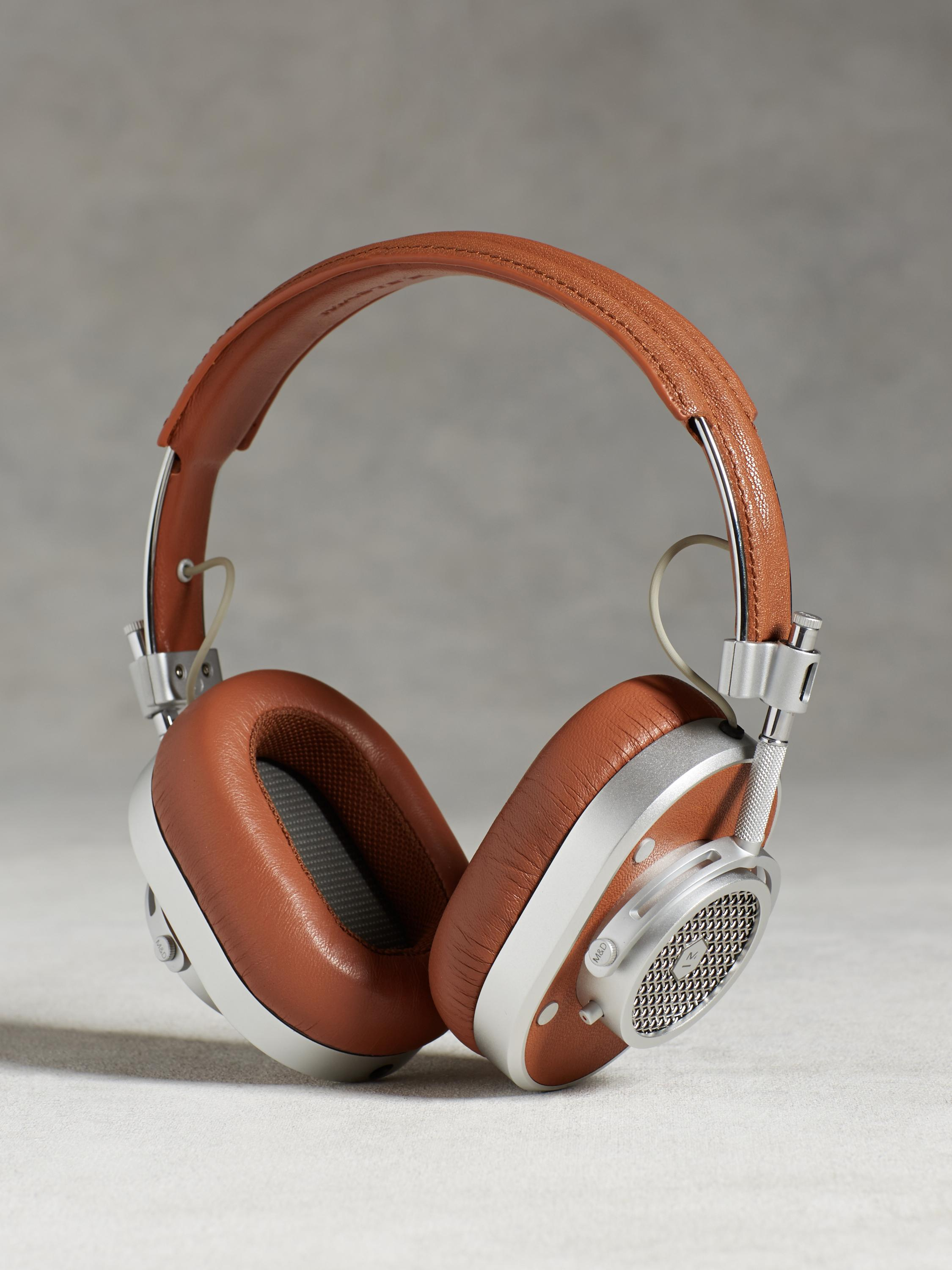 Over Ear Headphones in Silver