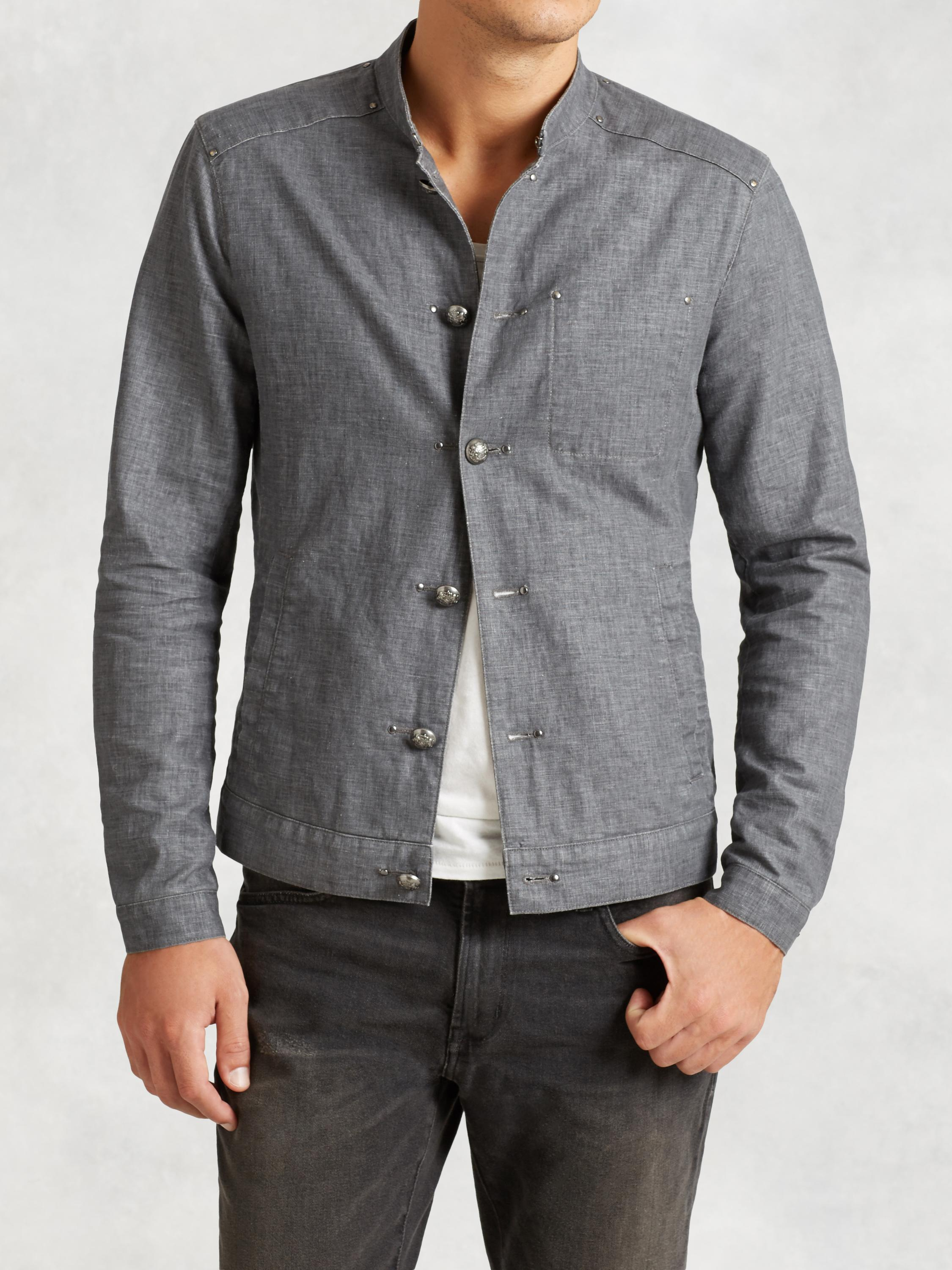 Linen Officer Jacket